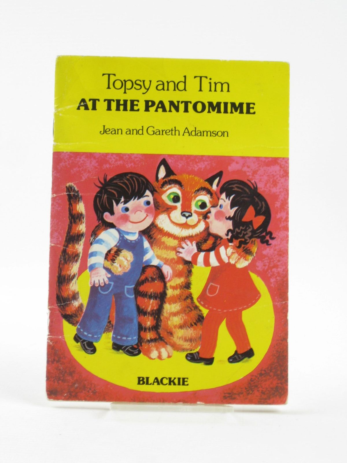 Photo of TOPSY AND TIM AT THE PANTOMIME written by Adamson, Jean<br />Adamson, Gareth illustrated by Adamson, Jean<br />Adamson, Gareth published by Blackie & Son Ltd. (STOCK CODE: 1501818)  for sale by Stella & Rose's Books
