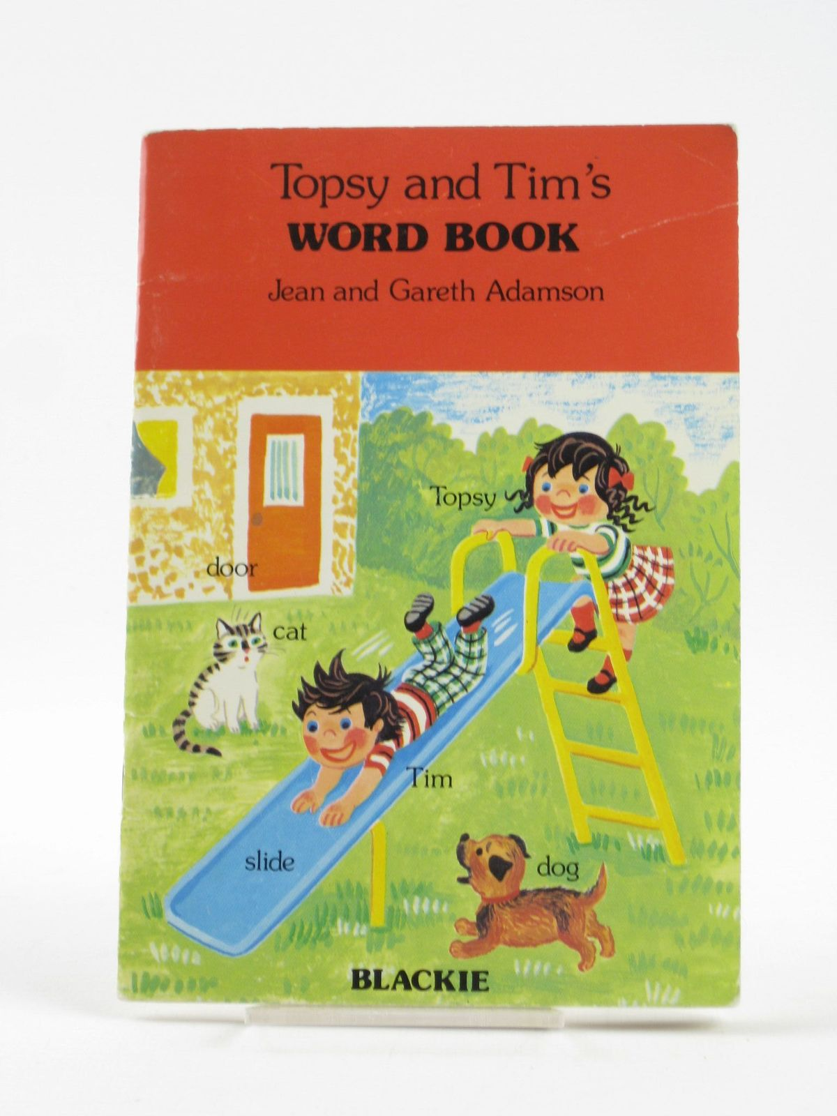 Photo of TOPSY AND TIM'S WORD BOOK written by Adamson, Jean<br />Adamson, Gareth illustrated by Adamson, Jean<br />Adamson, Gareth published by Blackie & Son Ltd. (STOCK CODE: 1501820)  for sale by Stella & Rose's Books