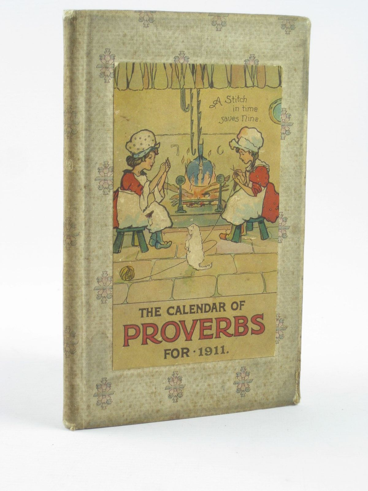 Photo of THE CALENDAR OF PROVERBS FOR 1911 published by Ernest Nister (STOCK CODE: 1501823)  for sale by Stella & Rose's Books