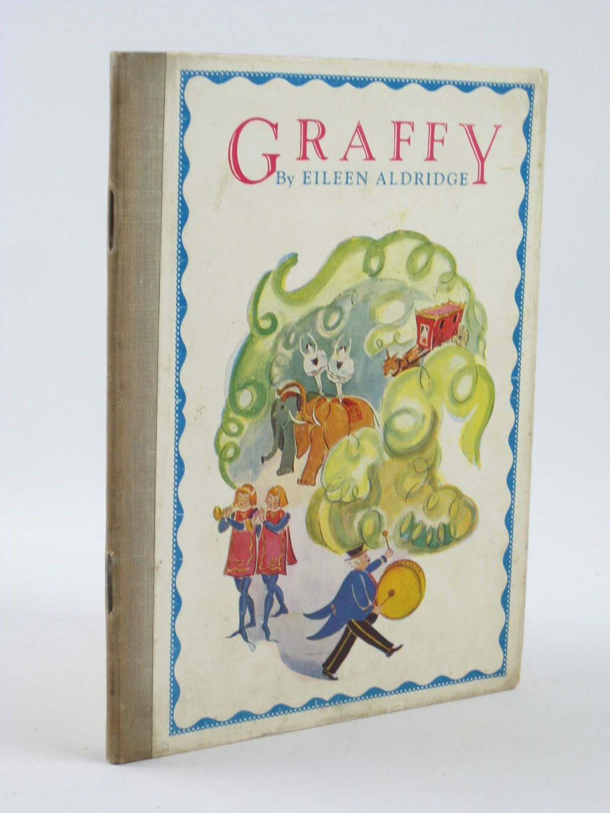 Photo of GRAFFY written by Aldridge, Eileen illustrated by Aldridge, Eileen published by The Medici Society (STOCK CODE: 1501824)  for sale by Stella & Rose's Books