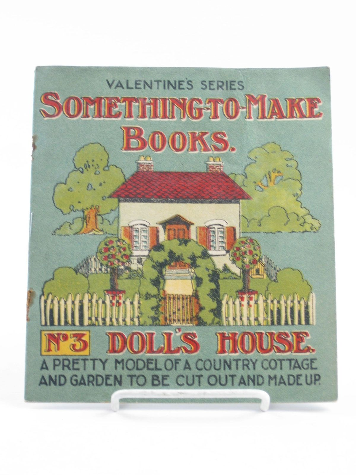 Photo of SOMETHING-T0-MAKE BOOKS No. 3 DOLL'S HOUSE published by Valentine & Sons Ltd. (STOCK CODE: 1501840)  for sale by Stella & Rose's Books
