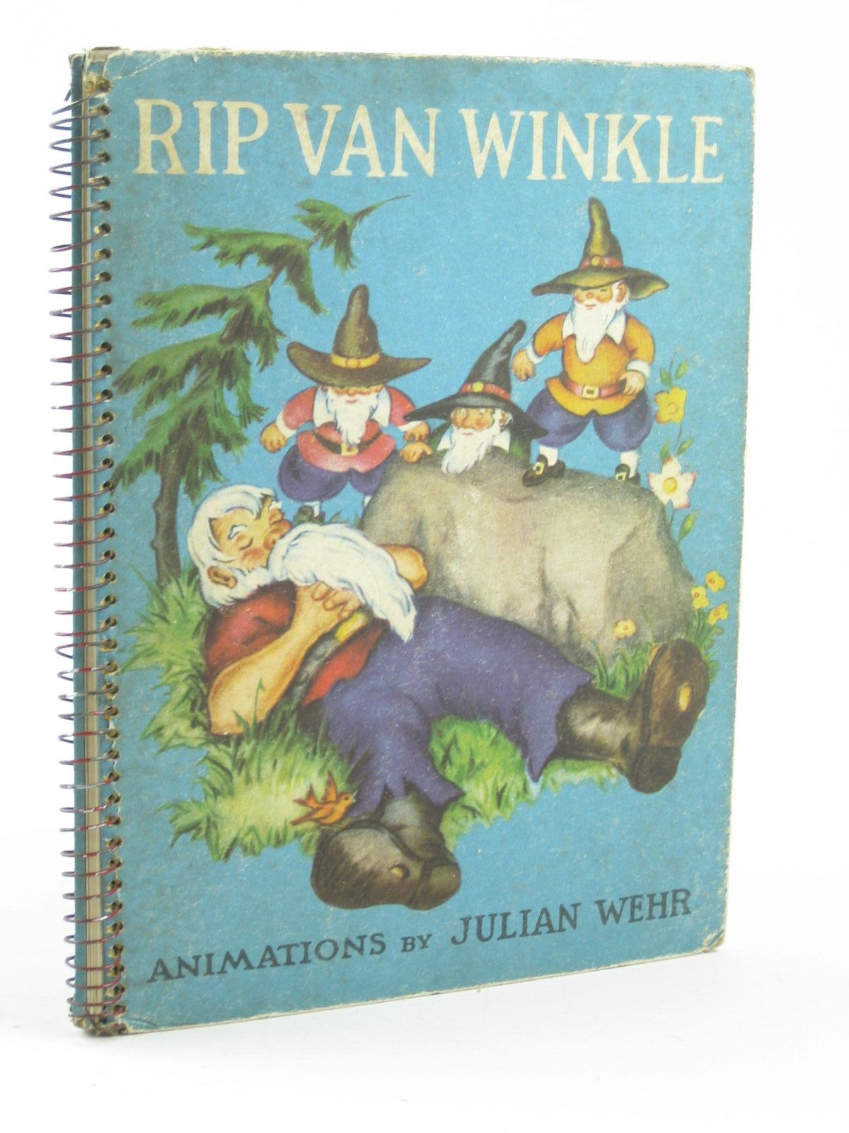 Photo of RIP VAN WINKLE written by Irving, Washington illustrated by Wehr, Julian published by The Pilot Press Ltd. (STOCK CODE: 1501858)  for sale by Stella & Rose's Books