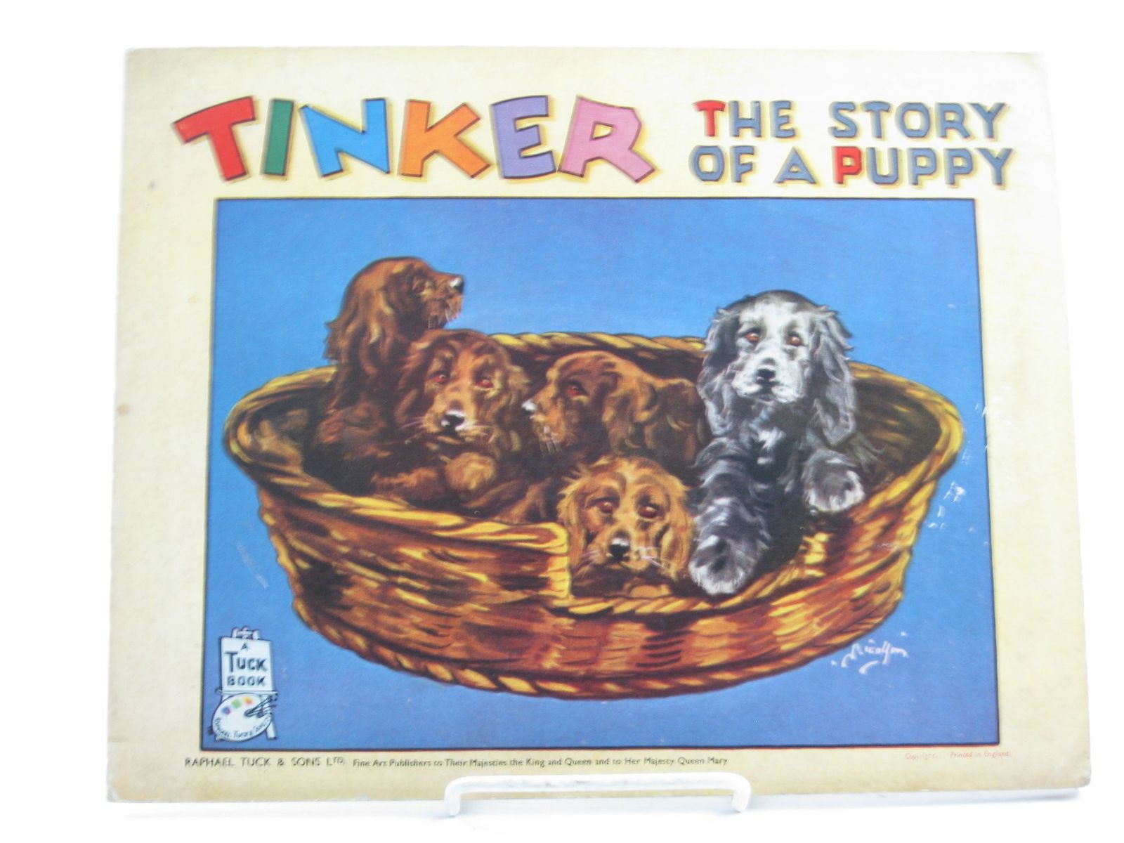 Photo of TINKER THE STORY OF A PUPPY published by Raphael Tuck & Sons Ltd. (STOCK CODE: 1501867)  for sale by Stella & Rose's Books