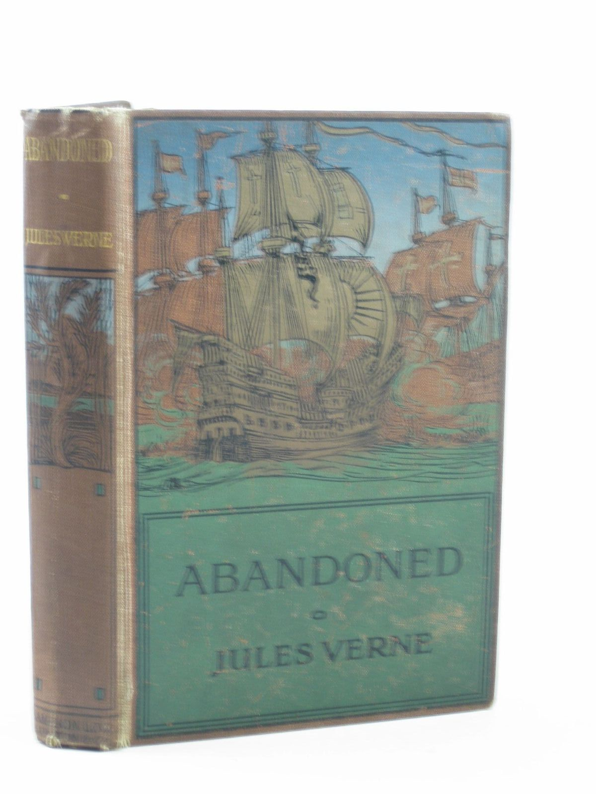 Photo of ABANDONED written by Verne, Jules published by Sampson Low, Marston & Co. Ltd. (STOCK CODE: 1501956)  for sale by Stella & Rose's Books