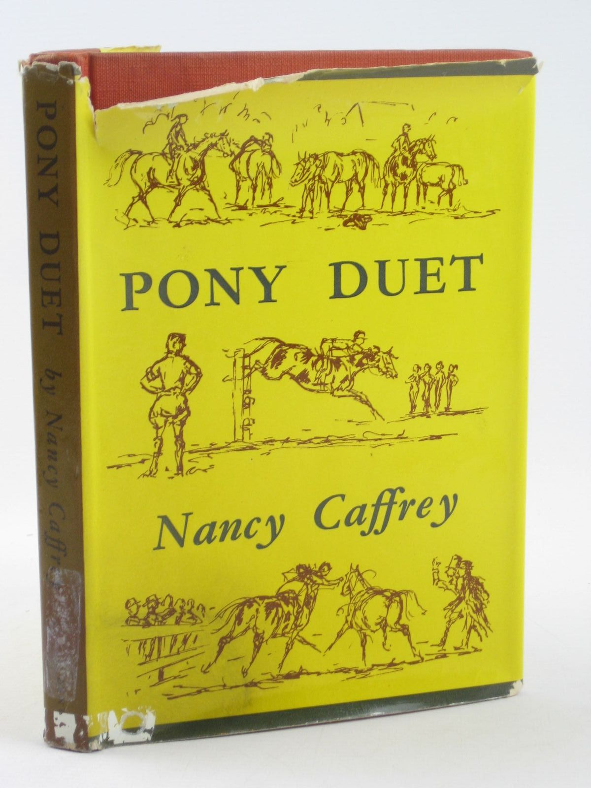 Photo of PONY DUET written by Caffrey, Nancy illustrated by Mutch, Ronnie published by J.M. Dent & Sons Ltd. (STOCK CODE: 1501971)  for sale by Stella & Rose's Books