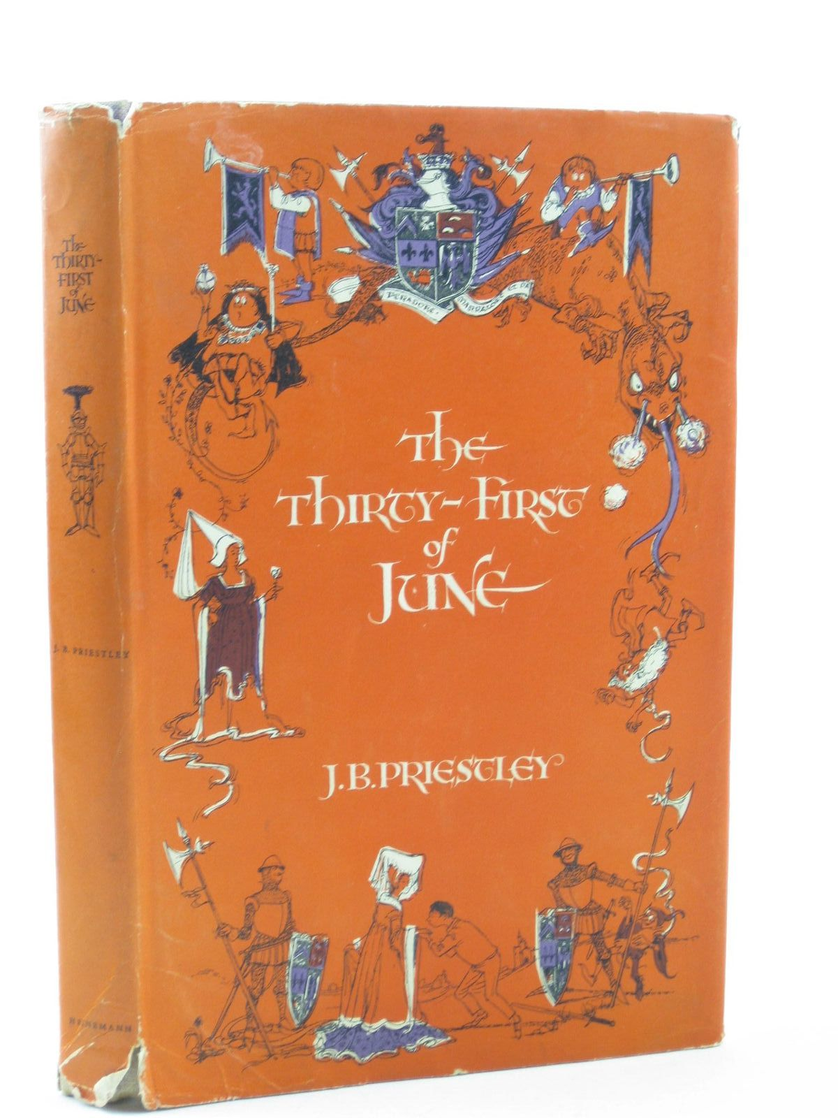 Photo of THE THIRTY-FIRST OF JUNE written by Priestley, J.B. published by Heinemann (STOCK CODE: 1502073)  for sale by Stella & Rose's Books