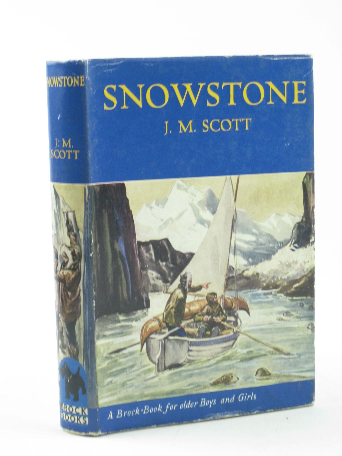 Photo of SNOWSTONE written by Scott, J.M. illustrated by Caney, published by The Brockhampton Press Ltd. (STOCK CODE: 1502098)  for sale by Stella & Rose's Books