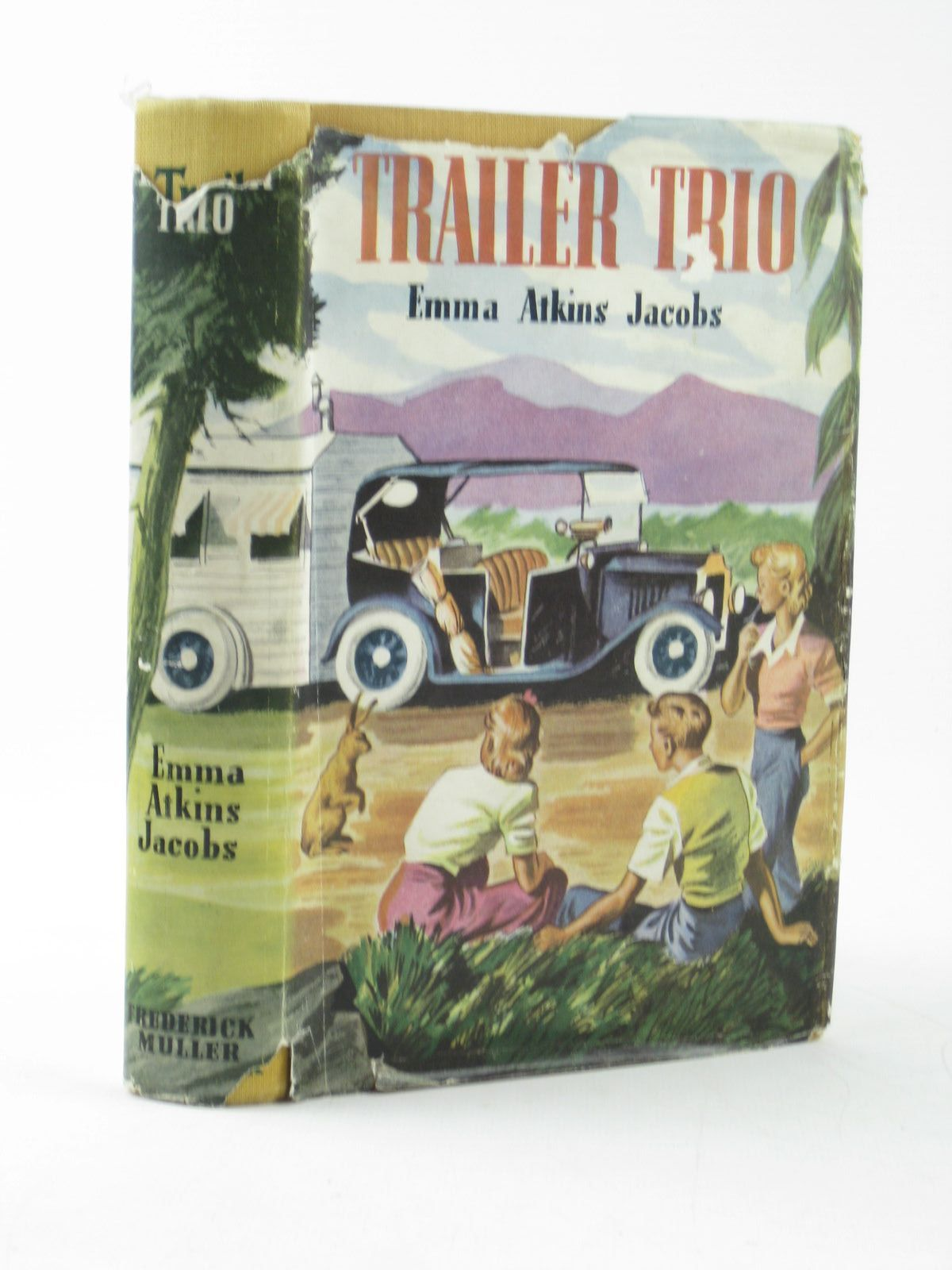 Photo of TRAILER TRIO written by Jacobs, Emma Atkins illustrated by Doane, Pelagie published by Frederick Muller Ltd. (STOCK CODE: 1502137)  for sale by Stella & Rose's Books