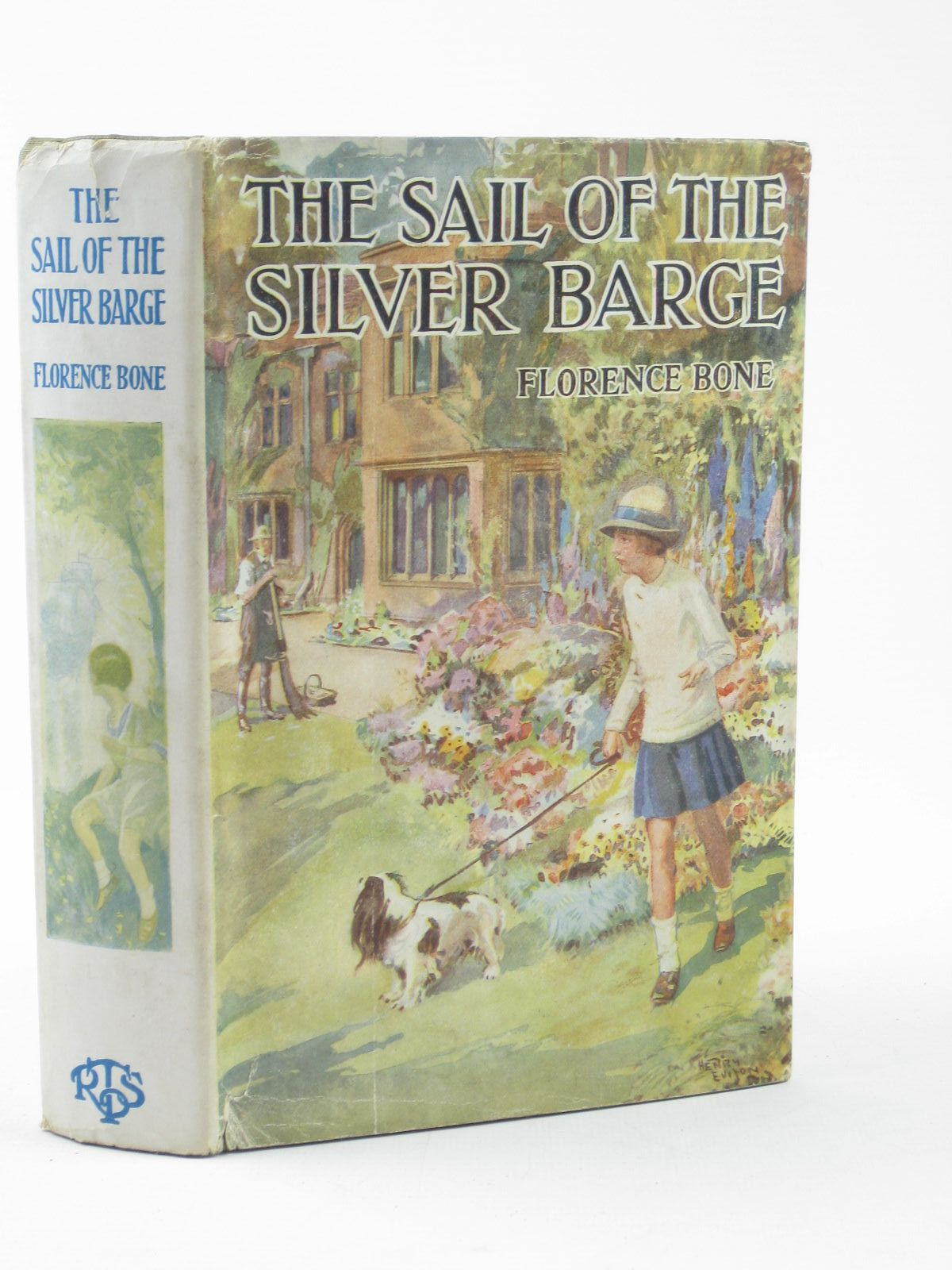 Photo of THE SAIL OF THE SILVER BARGE written by Bone, Florence published by The Religious Tract Society (STOCK CODE: 1502149)  for sale by Stella & Rose's Books