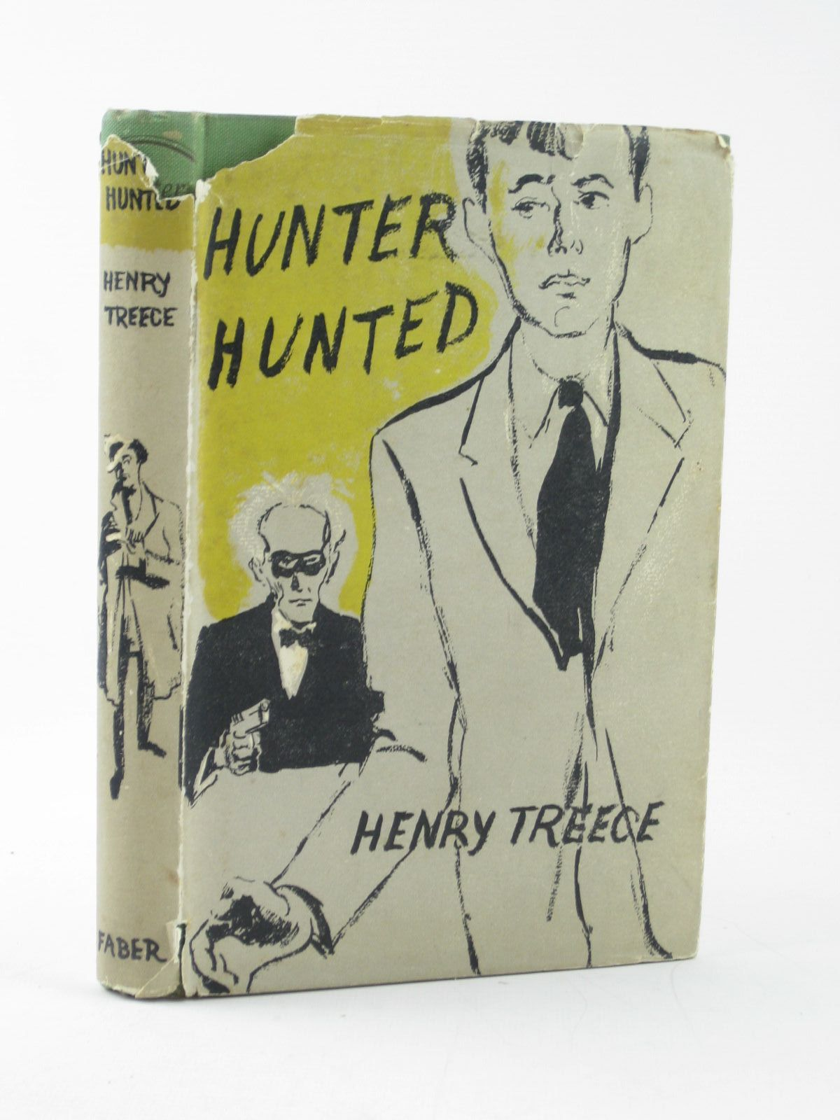 Photo of HUNTER HUNTED written by Treece, Henry illustrated by Kennedy, Richard published by Faber & Faber (STOCK CODE: 1502150)  for sale by Stella & Rose's Books