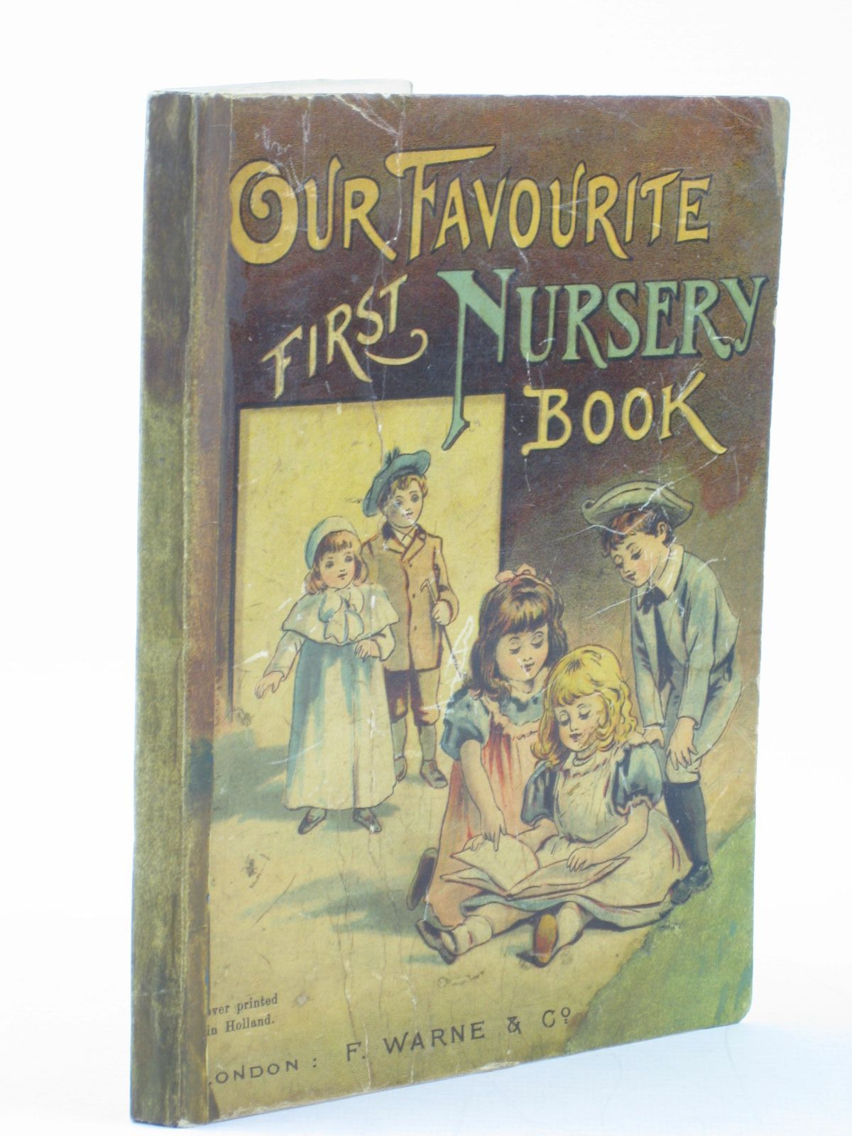 Photo of OUR FAVOURITE FIRST NURSERY BOOK written by Louisa, Aunt published by Frederick Warne & Co. (STOCK CODE: 1502162)  for sale by Stella & Rose's Books