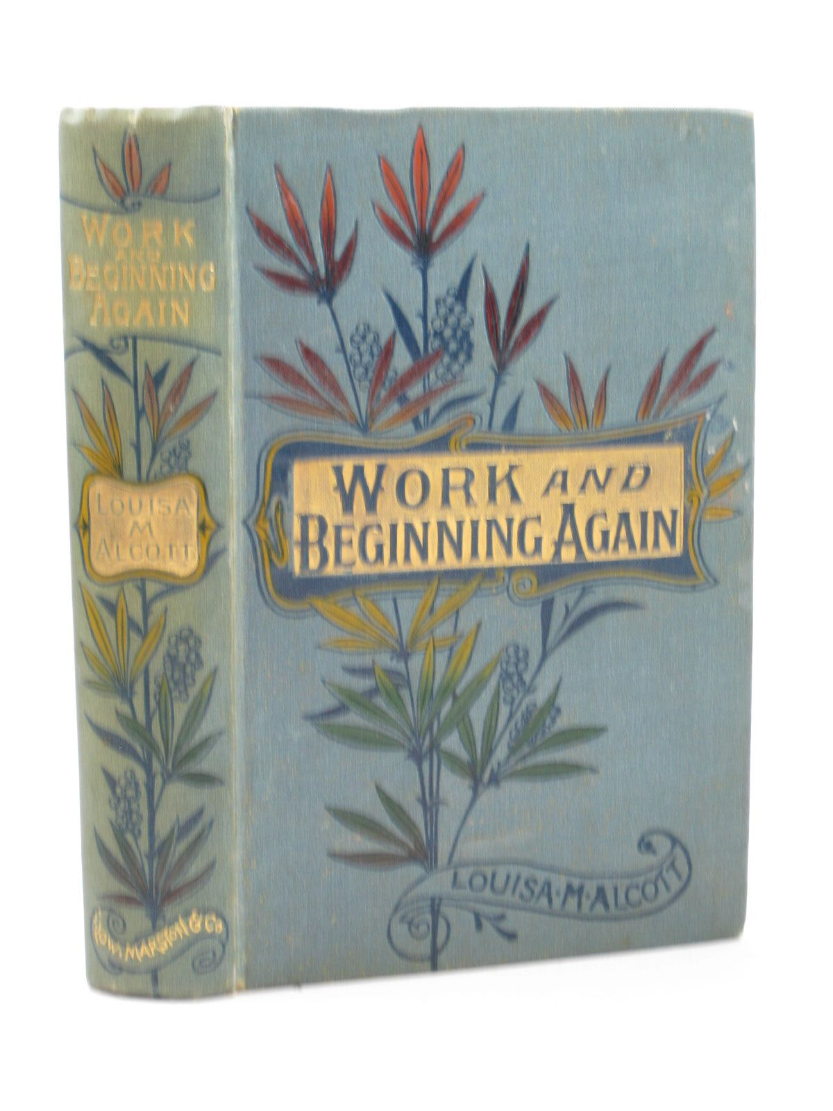 Photo of WORK AND BEGINNING AGAIN written by Alcott, Louisa M. illustrated by Eytinge, Sol published by Sampson Low, Marston & Co. (STOCK CODE: 1502169)  for sale by Stella & Rose's Books