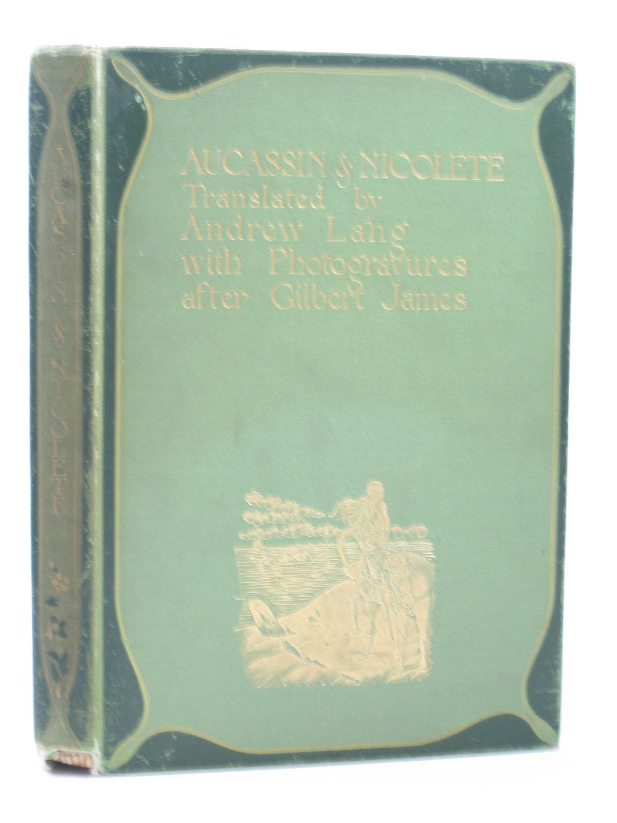 Photo of AUCASSIN AND NICOLETE written by Lang, Andrew illustrated by James, Gilbert published by George Routledge & Sons Ltd. (STOCK CODE: 1502187)  for sale by Stella & Rose's Books