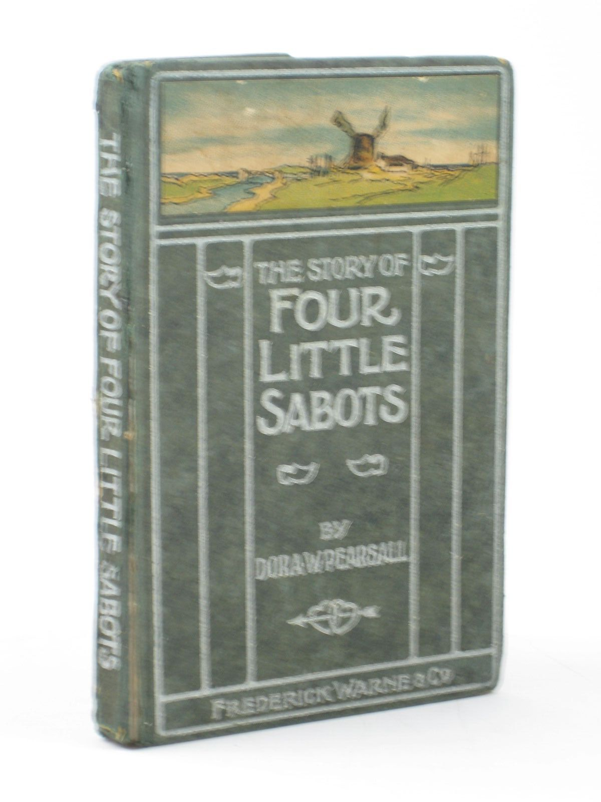 Photo of THE STORY OF FOUR LITTLE SABOTS written by Pearsall, Dora W. published by Frederick Warne & Co. (STOCK CODE: 1502214)  for sale by Stella & Rose's Books