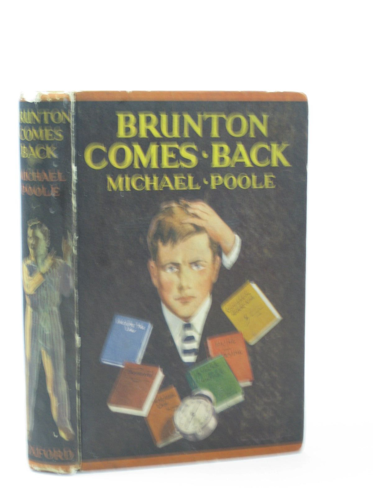 Photo of BRUNTON COMES BACK written by Poole, Michael published by Oxford University Press (STOCK CODE: 1502221)  for sale by Stella & Rose's Books