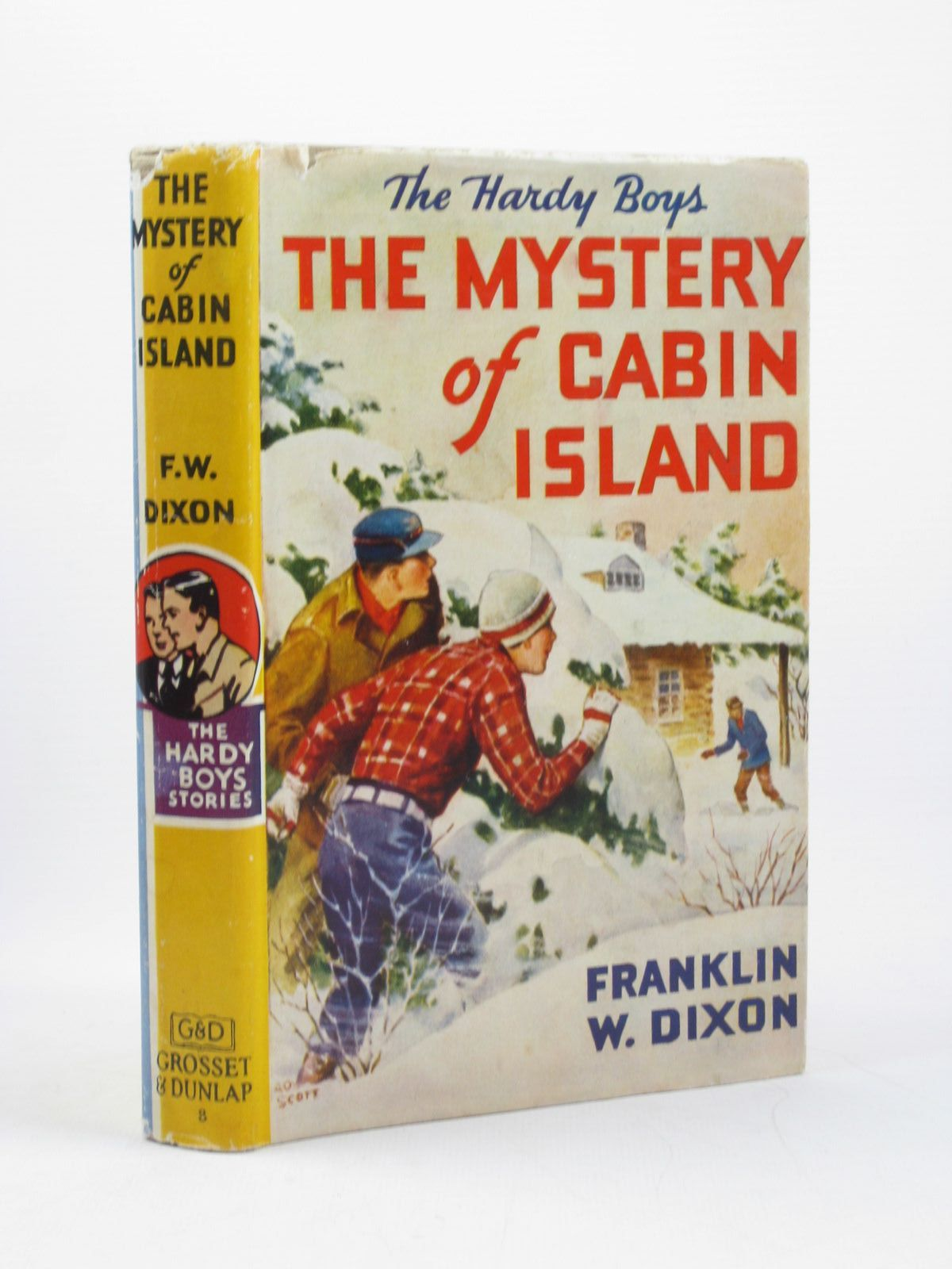 Photo of THE MYSTERY OF CABIN ISLAND written by Dixon, Franklin W. published by Grosset & Dunlap (STOCK CODE: 1502251)  for sale by Stella & Rose's Books