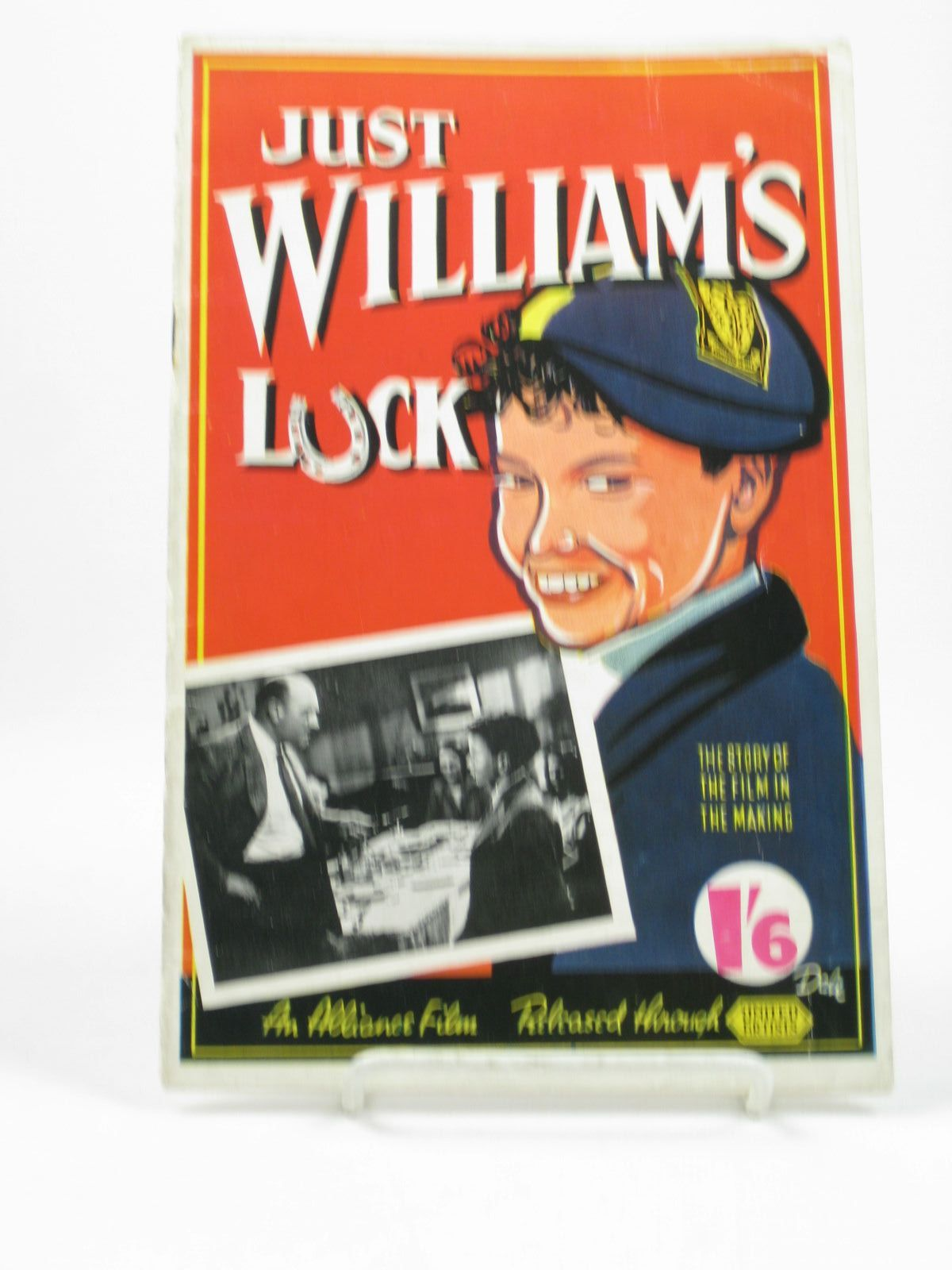 Photo of JUST WILLIAM'S LUCK THE STORY OF THE FILM IN MAKING