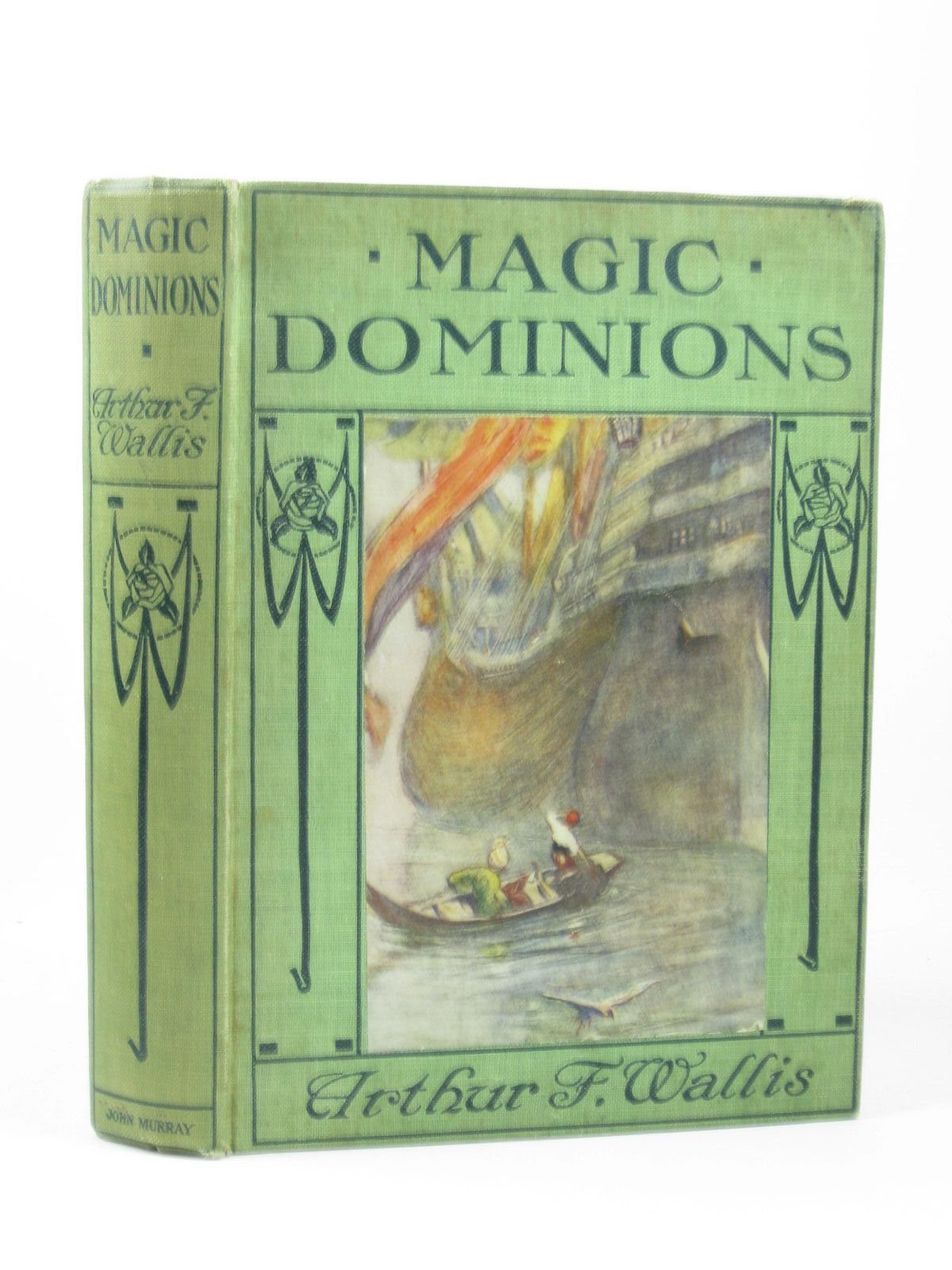 Photo of MAGIC DOMINIONS written by Wallis, Arthur F. illustrated by Shepperson, Claude published by John Murray (STOCK CODE: 1502449)  for sale by Stella & Rose's Books
