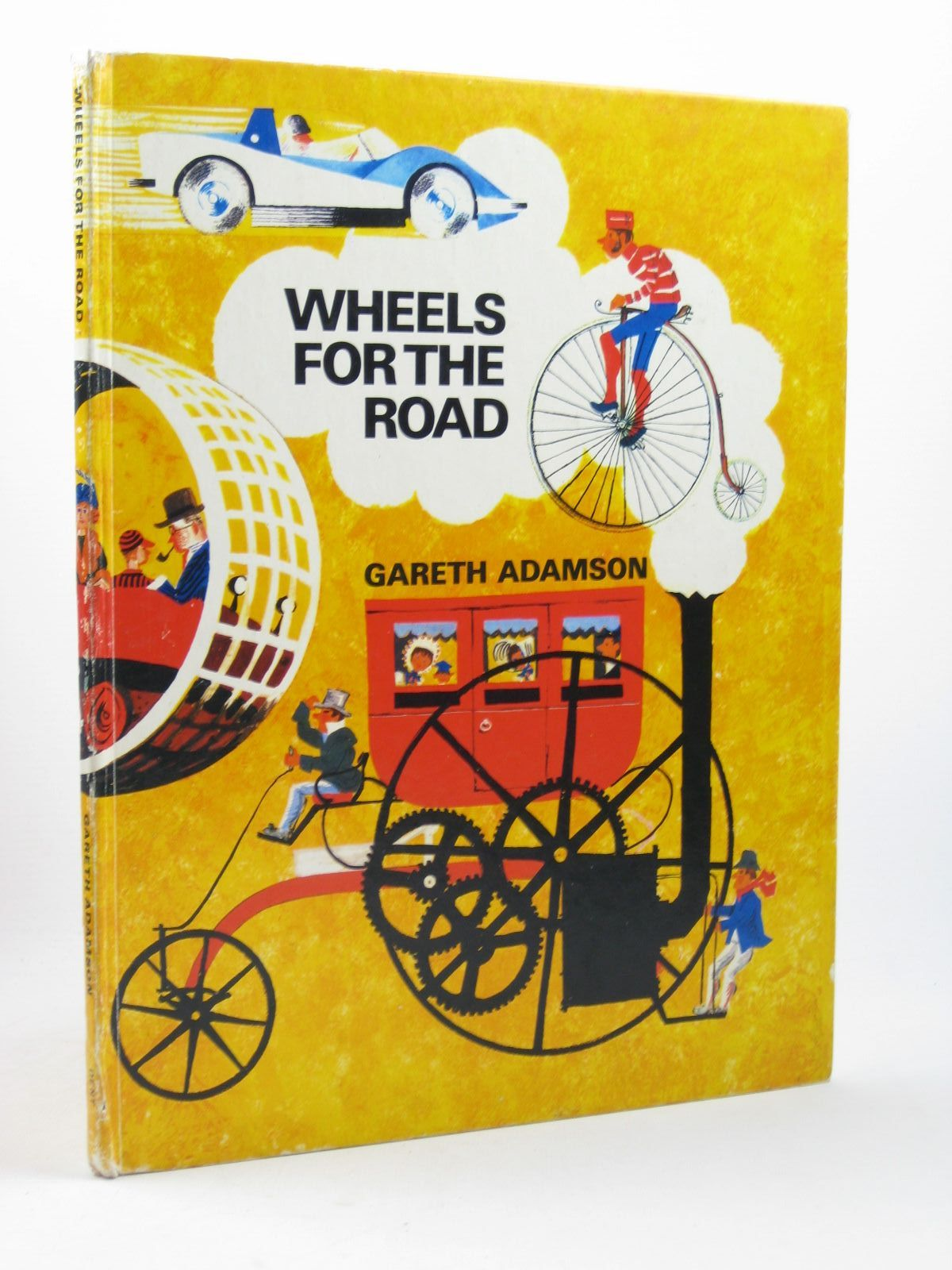 Photo of WHEELS FOR THE ROAD written by Adamson, Gareth illustrated by Adamson, Gareth published by J.M. Dent & Sons Ltd. (STOCK CODE: 1502539)  for sale by Stella & Rose's Books