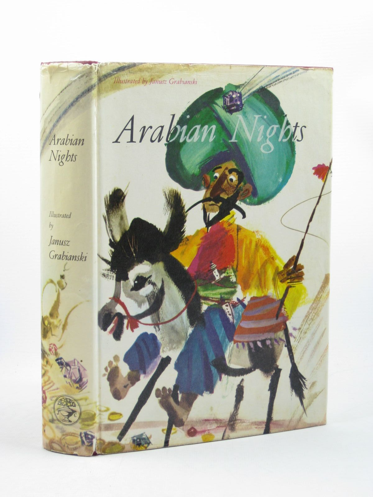 Photo of ARABIAN NIGHTS illustrated by Grabianski, Janusz published by Jonathan Cape (STOCK CODE: 1502653)  for sale by Stella & Rose's Books