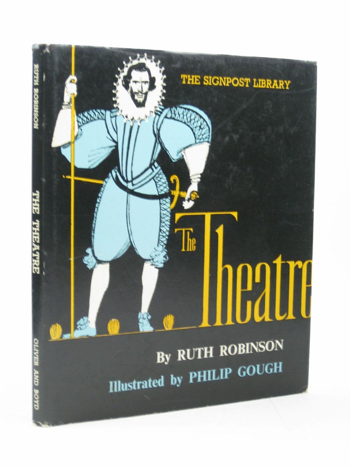 Photo of THE THEATRE written by Robinson, Ruth illustrated by Gough, Philip published by Oliver & Boyd (STOCK CODE: 1502799)  for sale by Stella & Rose's Books