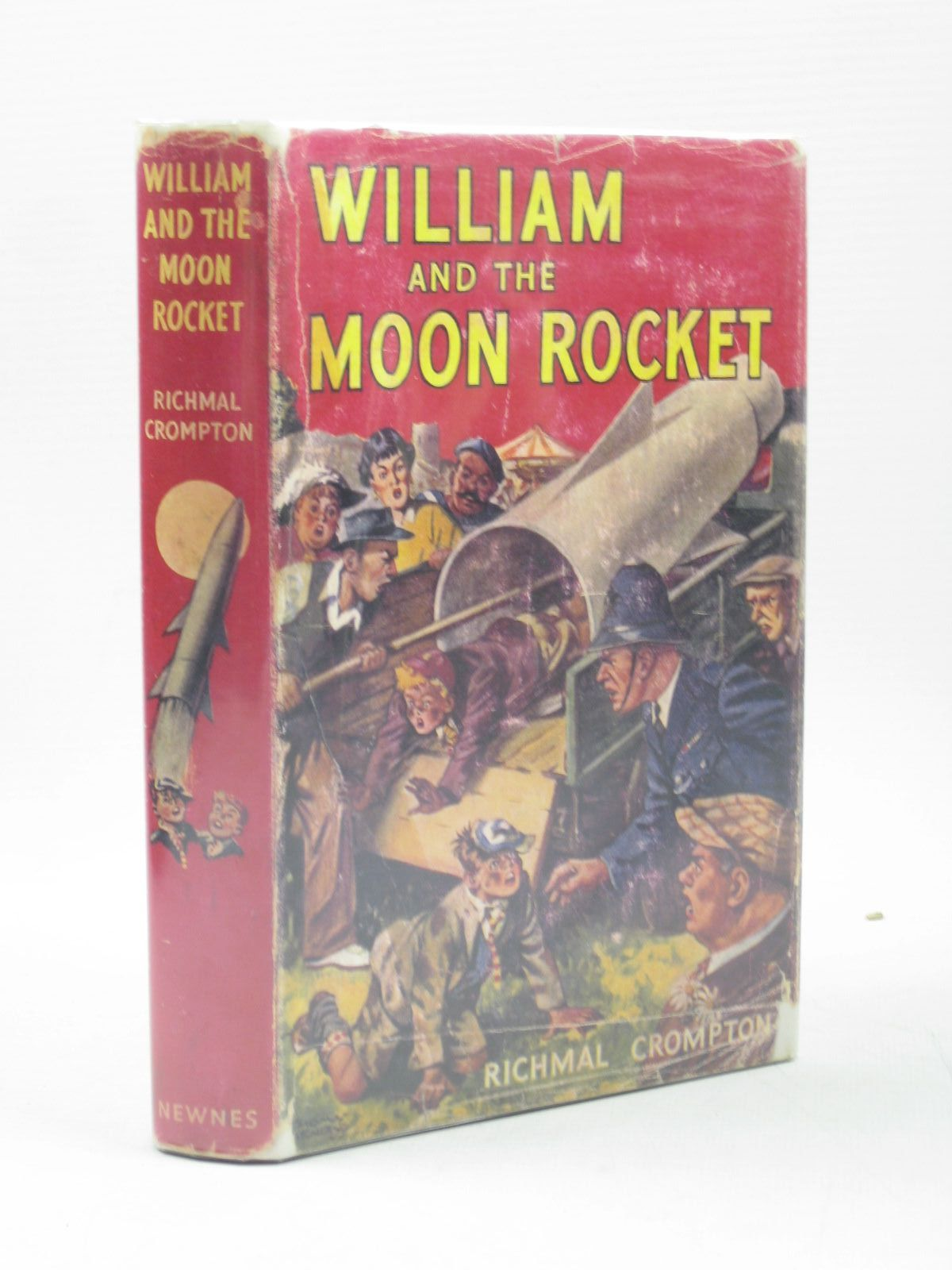 Photo of WILLIAM AND THE MOON ROCKET written by Crompton, Richmal illustrated by Henry, Thomas published by George Newnes Limited (STOCK CODE: 1502832)  for sale by Stella & Rose's Books