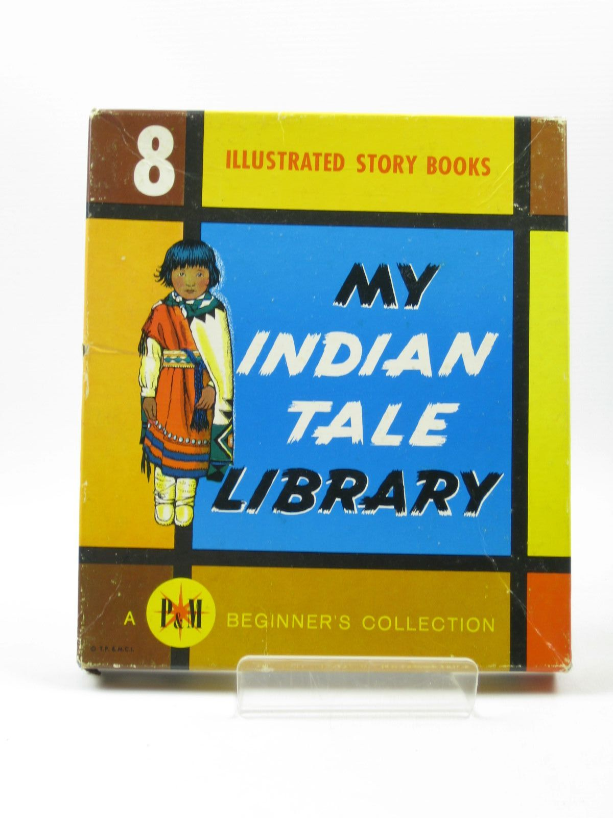 Photo of MY INDIAN TALE LIBRARY illustrated by Vernam, Roger published by The Platt And Munk Co. Inc. (STOCK CODE: 1502910)  for sale by Stella & Rose's Books