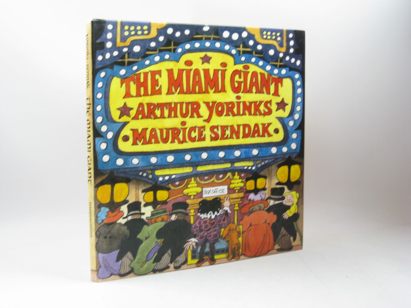 Photo of THE MIAMI GIANT written by Yorinks, Arthur illustrated by Sendak, Maurice published by Harper Collins (STOCK CODE: 1502956)  for sale by Stella & Rose's Books