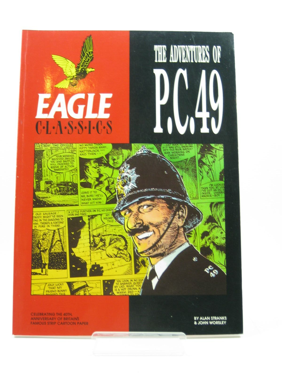 Photo of THE ADVENTURES OF P.C. 49 - EAGLE CLASSICS written by Stranks, Alan<br />Worsley, John published by Hawk Books (STOCK CODE: 1503039)  for sale by Stella & Rose's Books