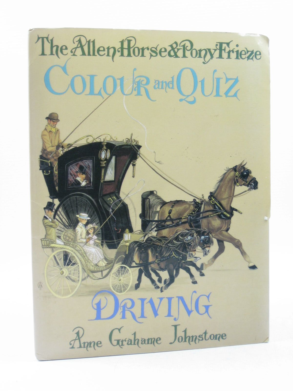 Photo of THE ALLEN HORSE AND PONY FRIEZE COLOUR AND QUIZ DRIVING illustrated by Johnstone, Anne Grahame published by J.A. Allen & Co. Ltd. (STOCK CODE: 1503168)  for sale by Stella & Rose's Books