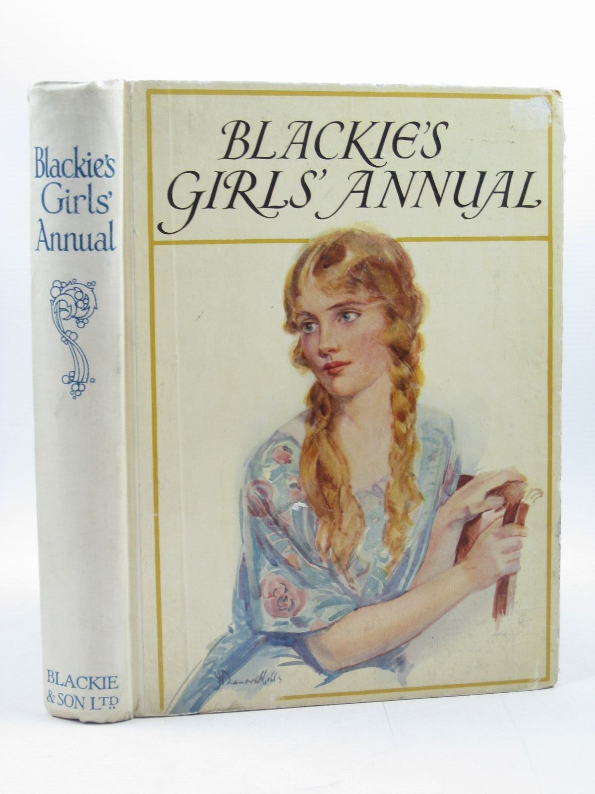 Photo of BLACKIE'S GIRLS' ANNUAL written by Brazil, Angela<br />Elder, Josephine<br />Talbot, Ethel<br />Cowper, E.E.<br />et al, illustrated by Brock, C.E.<br />Browne, Gordon<br />Harrison, Florence<br />et al., published by Blackie & Son Ltd. (STOCK CODE: 1503402)  for sale by Stella & Rose's Books
