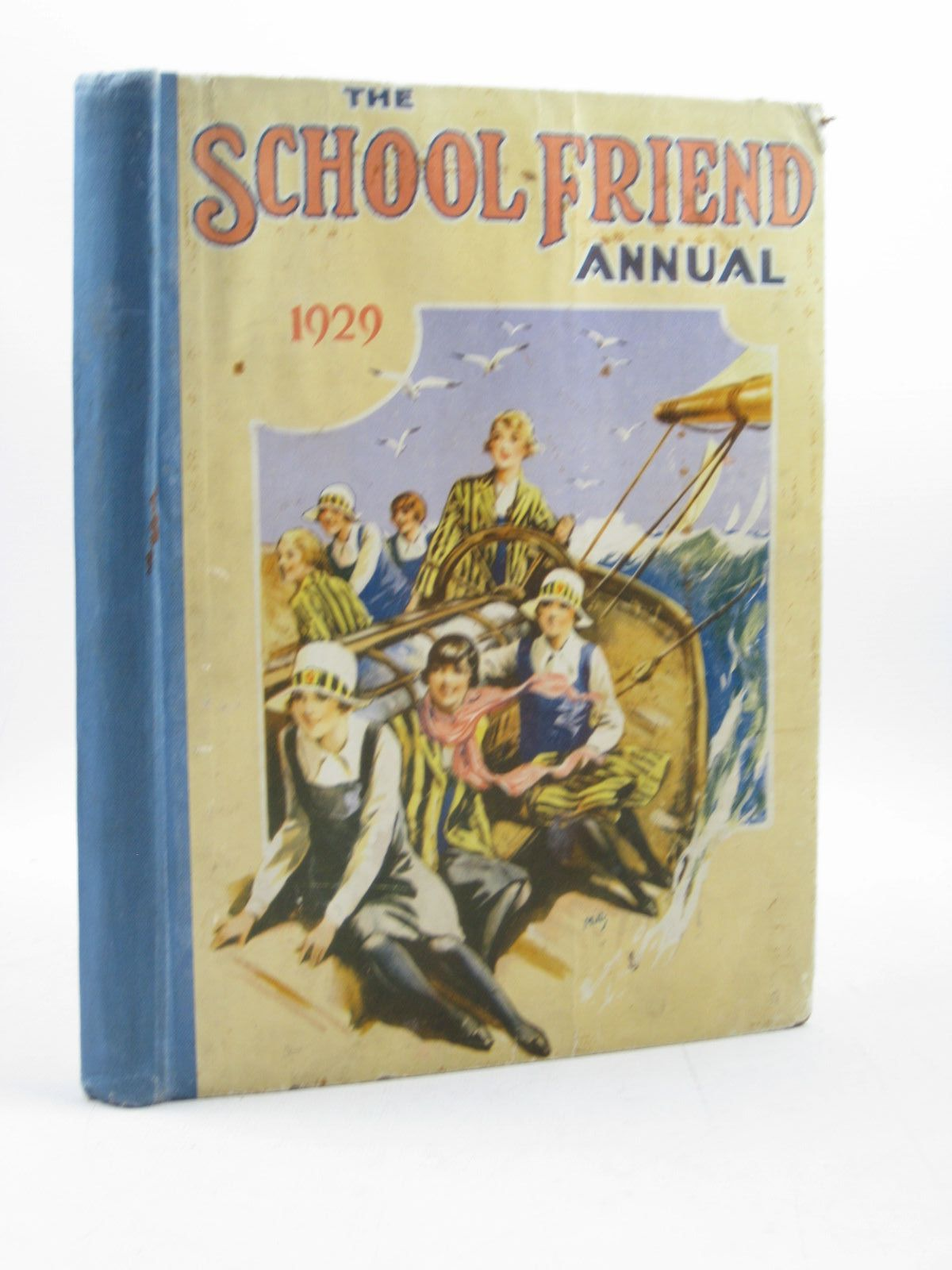 Photo of SCHOOL FRIEND ANNUAL 1929 written by Richards, Hilda<br />Frazer, Renee<br />Buley, Alma<br />et al, published by The Fleetway House (STOCK CODE: 1503415)  for sale by Stella & Rose's Books
