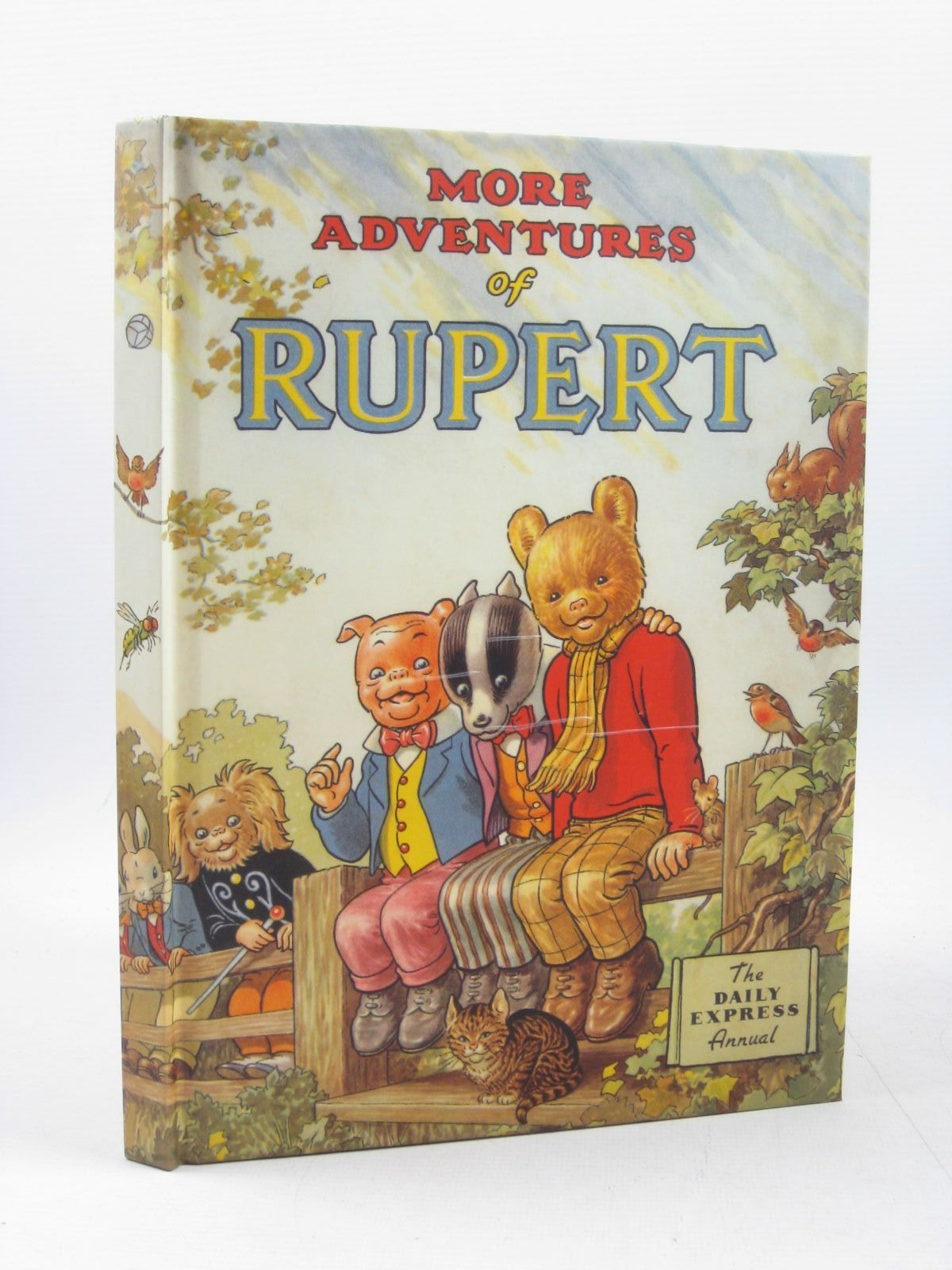 Photo of RUPERT ANNUAL 1953 (FACSIMILE) - MORE ADVENTURES OF RUPERT written by Bestall, Alfred illustrated by Bestall, Alfred published by Pedigree Books Limited (STOCK CODE: 1503438)  for sale by Stella & Rose's Books
