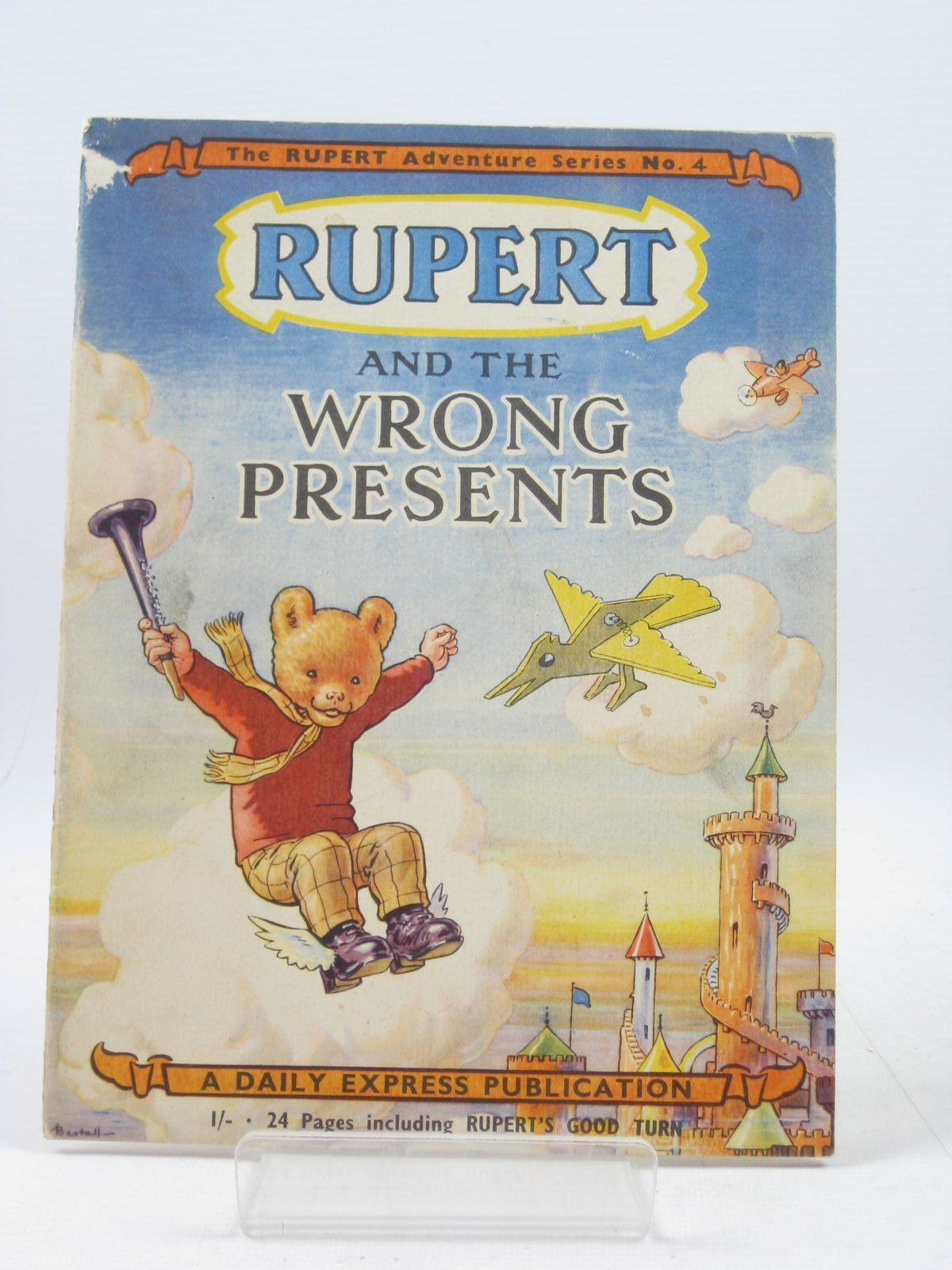 Photo of RUPERT ADVENTURE SERIES No. 4 - RUPERT AND THE WRONG PRESENTS written by Bestall, Alfred illustrated by Bestall, Alfred published by Daily Express (STOCK CODE: 1503479)  for sale by Stella & Rose's Books