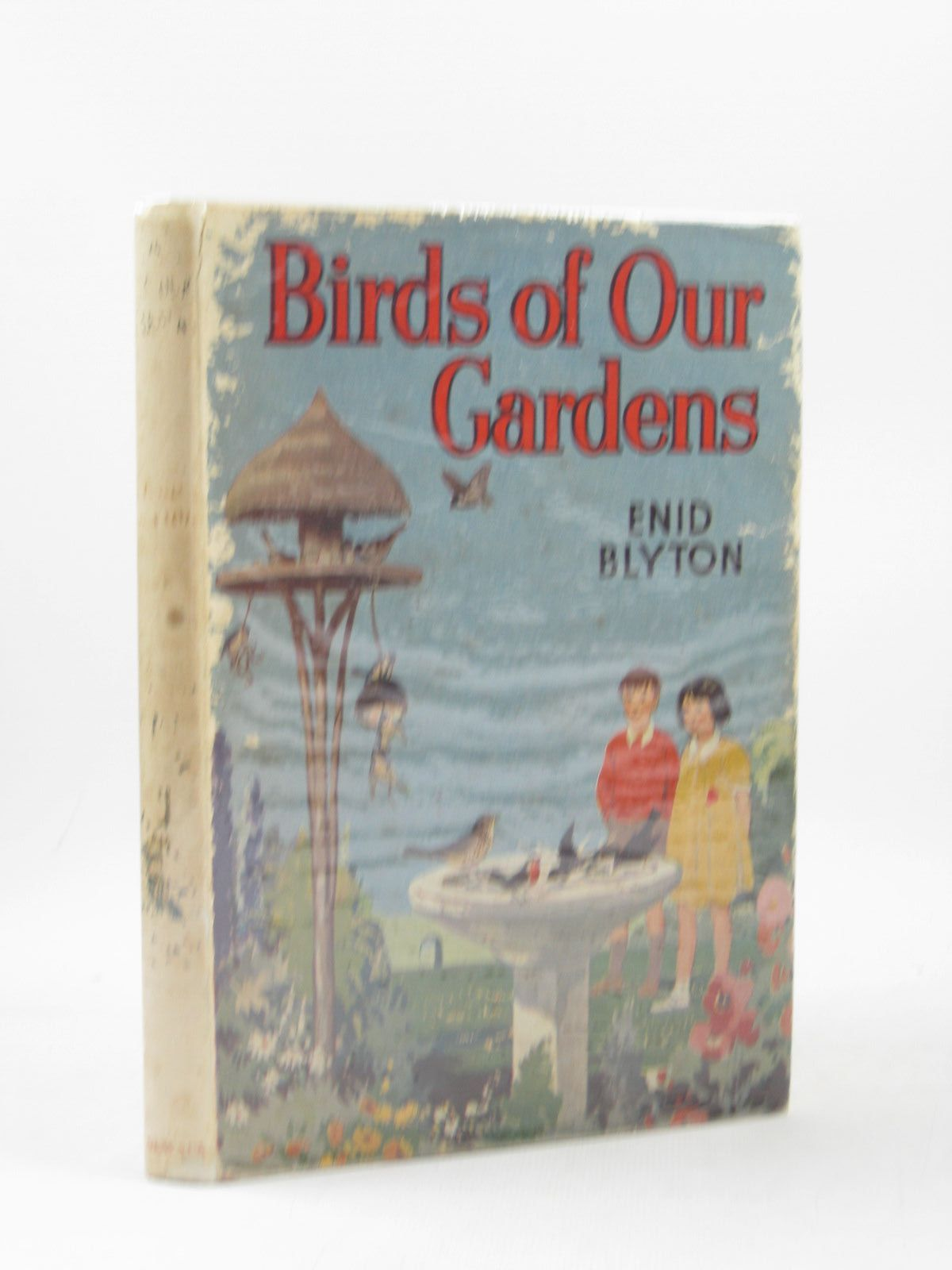 Photo of BIRDS OF OUR GARDENS written by Blyton, Enid illustrated by Green, Roland<br />Aris, Ernest A. published by George Newnes Ltd. (STOCK CODE: 1503507)  for sale by Stella & Rose's Books