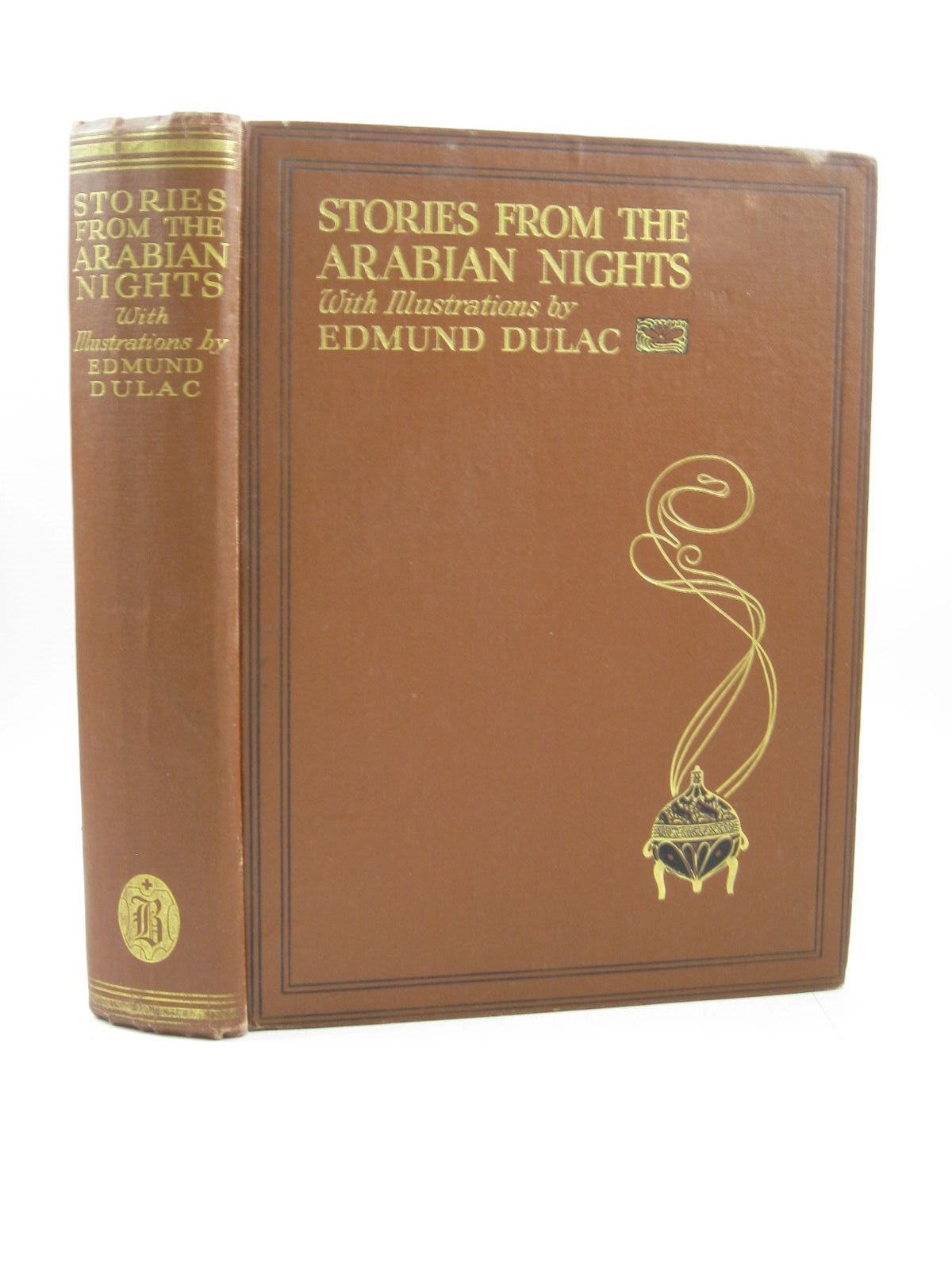 Photo of STORIES FROM THE ARABIAN NIGHTS written by Housman, Laurence illustrated by Dulac, Edmund published by Hodder & Stoughton (STOCK CODE: 1503524)  for sale by Stella & Rose's Books