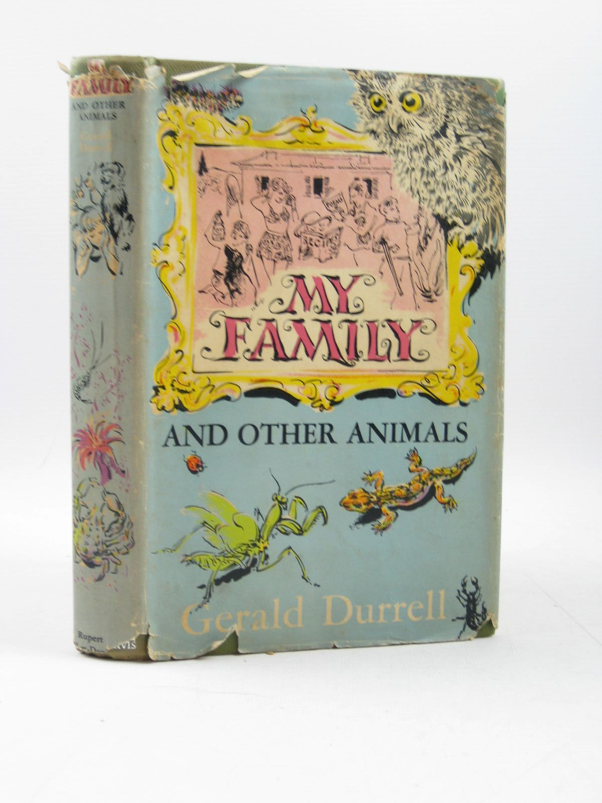 Photo of MY FAMILY AND OTHER ANIMALS written by Durrell, Gerald published by Rupert Hart-Davis, The Book Society (STOCK CODE: 1503845)  for sale by Stella & Rose's Books