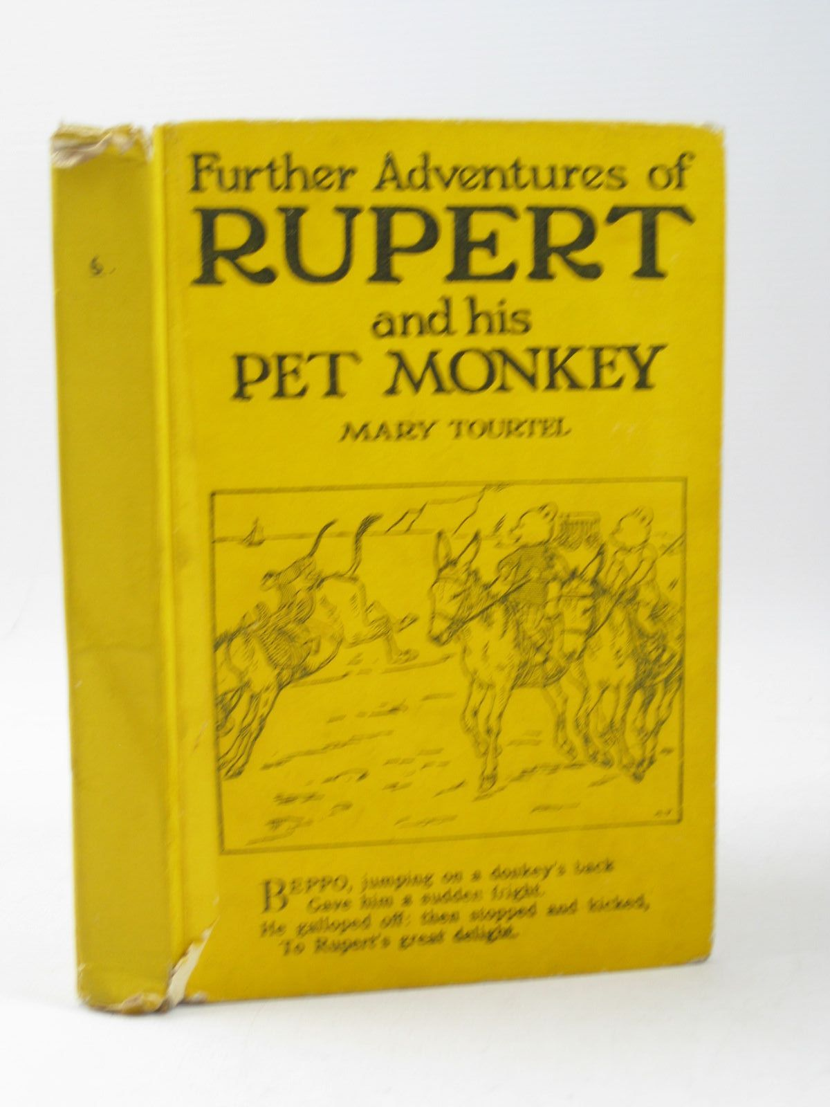 Photo of FURTHER ADVENTURES OF RUPERT AND HIS PET MONKEY - RUPERT LITTLE BEAR LIBRARY No. 6 written by Tourtel, Mary illustrated by Tourtel, Mary published by Sampson Low, Marston & Co. Ltd. (STOCK CODE: 1503913)  for sale by Stella & Rose's Books