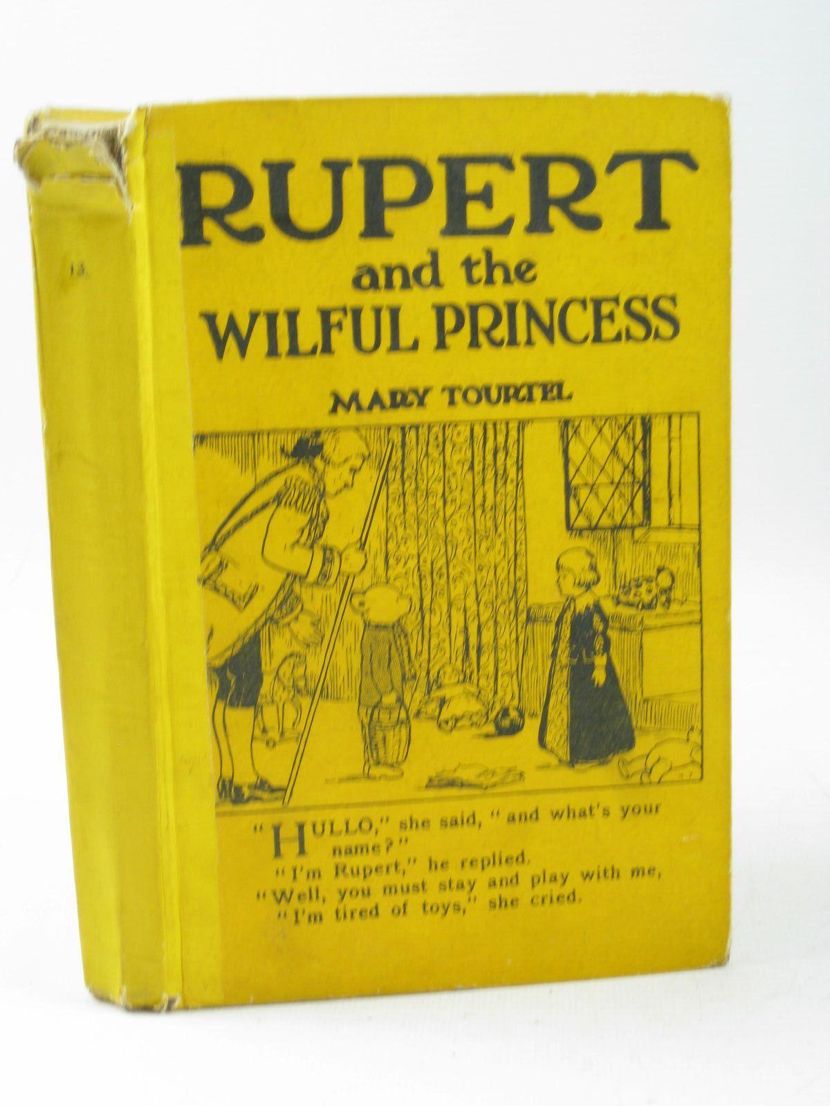 Photo of RUPERT AND THE WILFUL PRINCESS - RUPERT LITTLE BEAR LIBRARY NO. 13