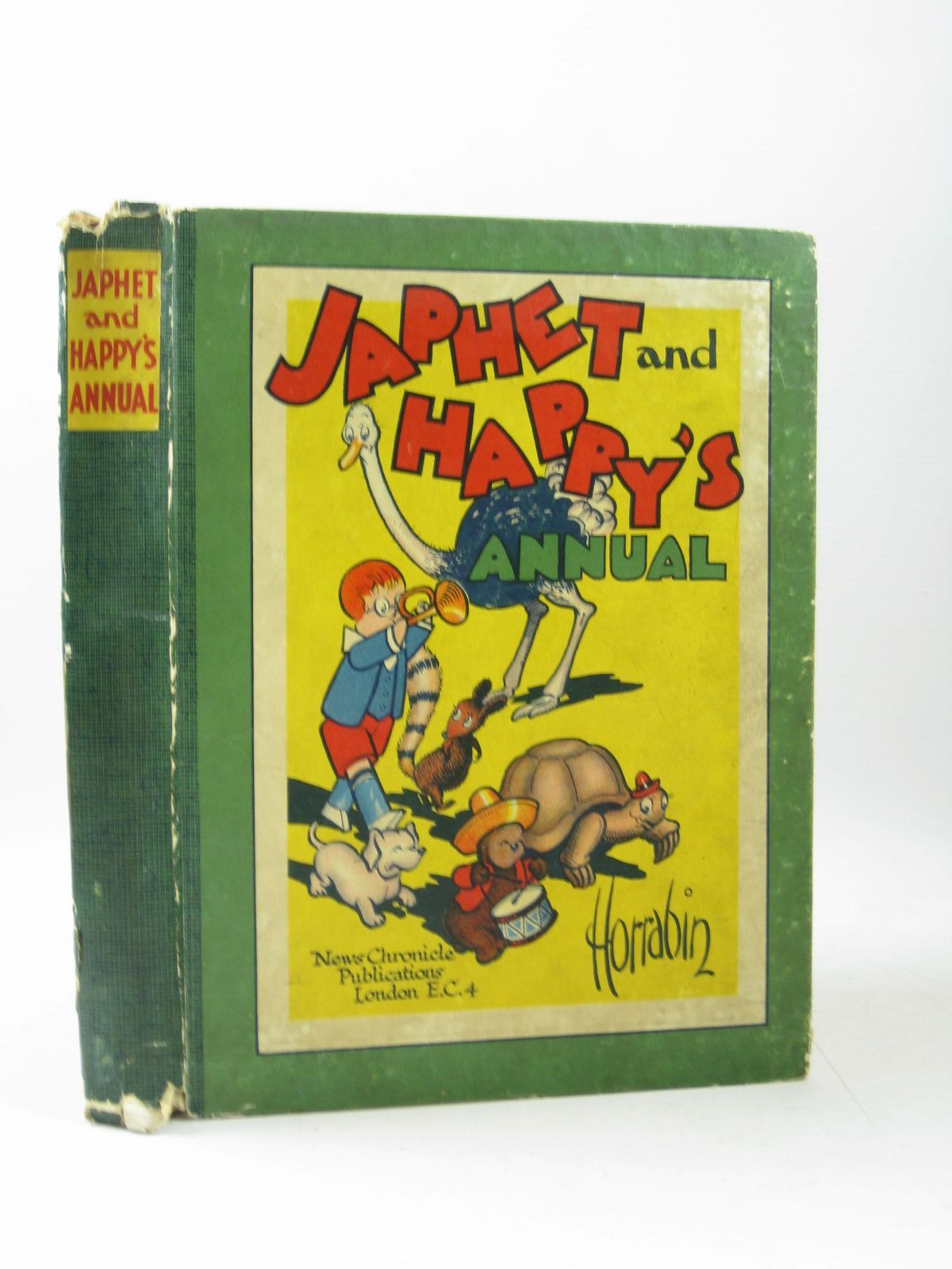 Photo of JAPHET AND HAPPY'S ANNUAL 1941 written by Horrabin, J.F. illustrated by Horrabin, J.F. published by News Chronicle (STOCK CODE: 1503942)  for sale by Stella & Rose's Books