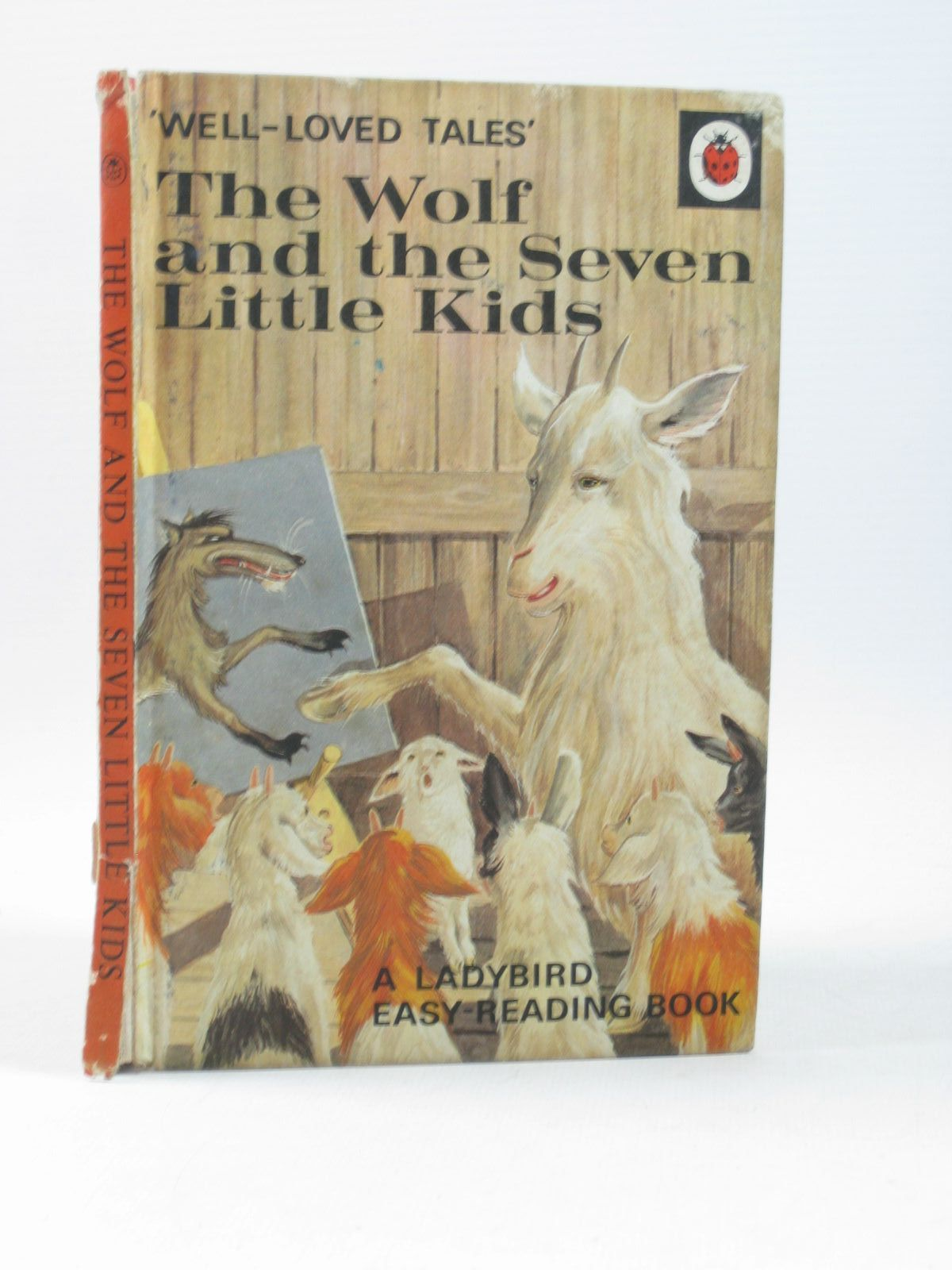 Photo of THE WOLF AND THE SEVEN LITTLE KIDS written by Southgate, Vera illustrated by Lumley, Robert published by Wills & Hepworth Ltd. (STOCK CODE: 1503960)  for sale by Stella & Rose's Books