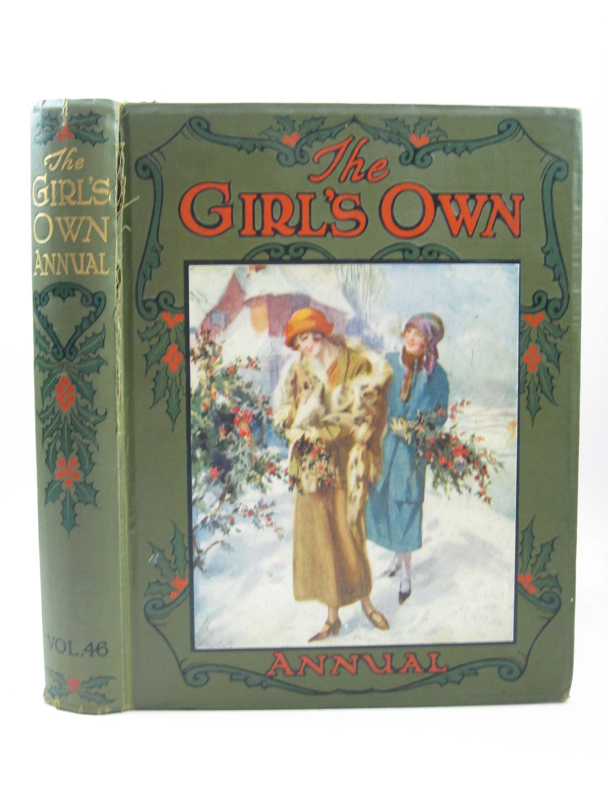 Photo of THE GIRL'S OWN ANNUAL - VOLUME 46 written by Klickmann, Flora published by William Clowes & Sons Ltd. (STOCK CODE: 1503967)  for sale by Stella & Rose's Books