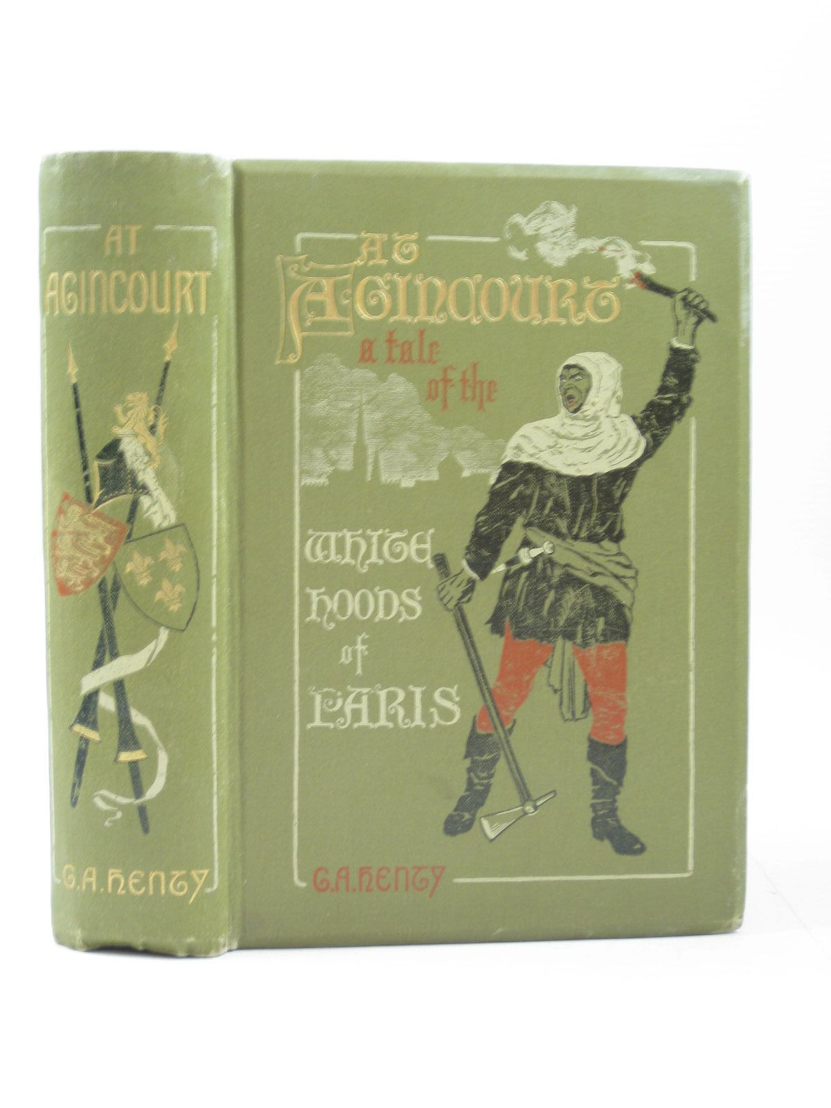 Photo of AT AGINCOURT written by Henty, G.A. illustrated by Paget, Wal published by Blackie & Son Ltd. (STOCK CODE: 1504031)  for sale by Stella & Rose's Books
