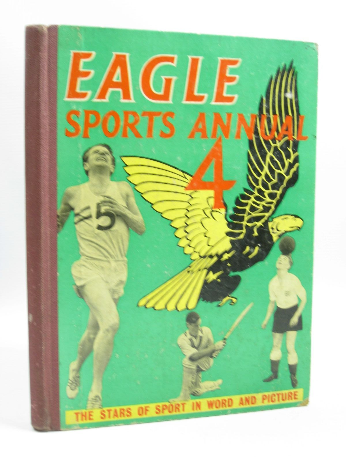 Photo of THE FOURTH EAGLE SPORTS ANNUAL illustrated by White, Brian published by Hulton Press (STOCK CODE: 1504136)  for sale by Stella & Rose's Books