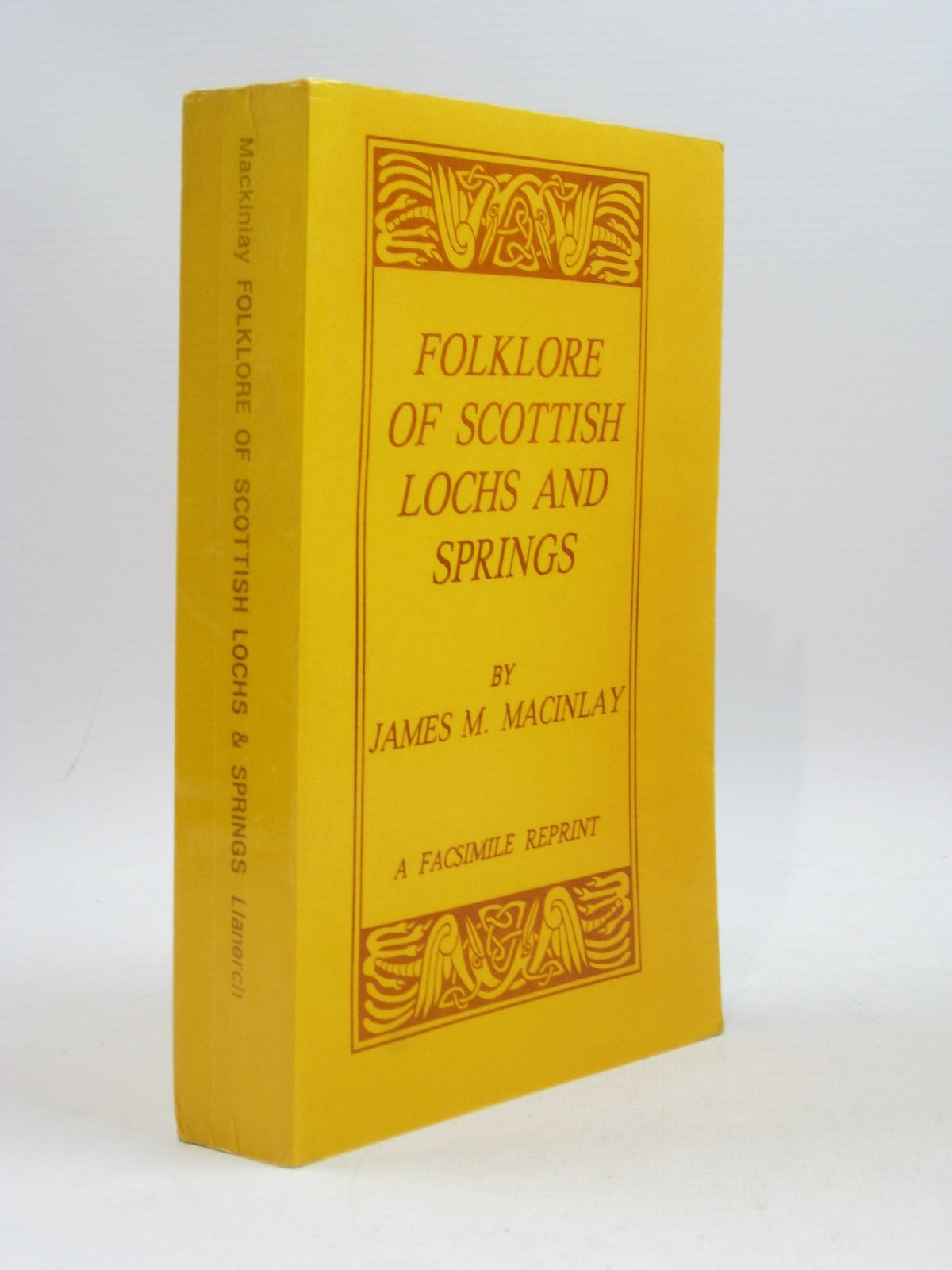 Photo of FOLKLORE OF SCOTTISH LOCHS AND SPRINGS written by Mackinlay, James M. published by Llanerch Publishers (STOCK CODE: 1504206)  for sale by Stella & Rose's Books