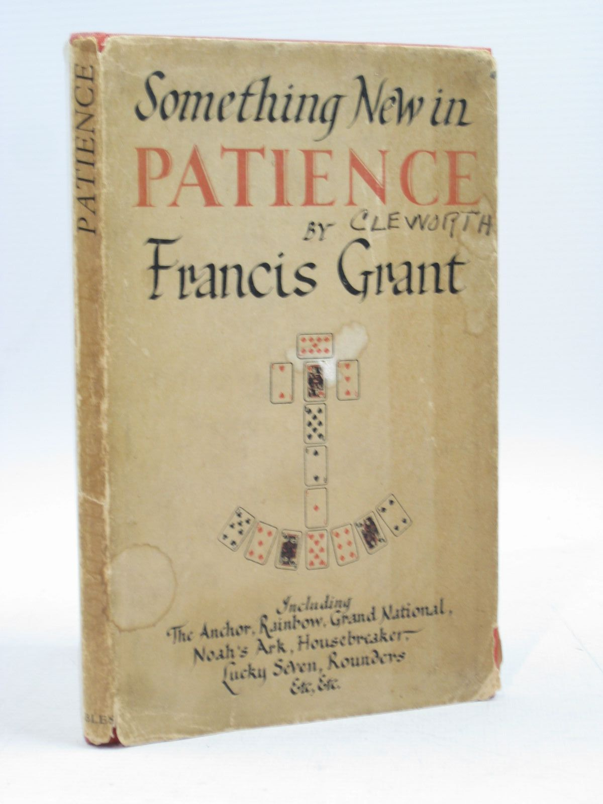 Photo of PATIENCE written by Grant, P. Francis published by Geoffrey Bles (STOCK CODE: 1504210)  for sale by Stella & Rose's Books
