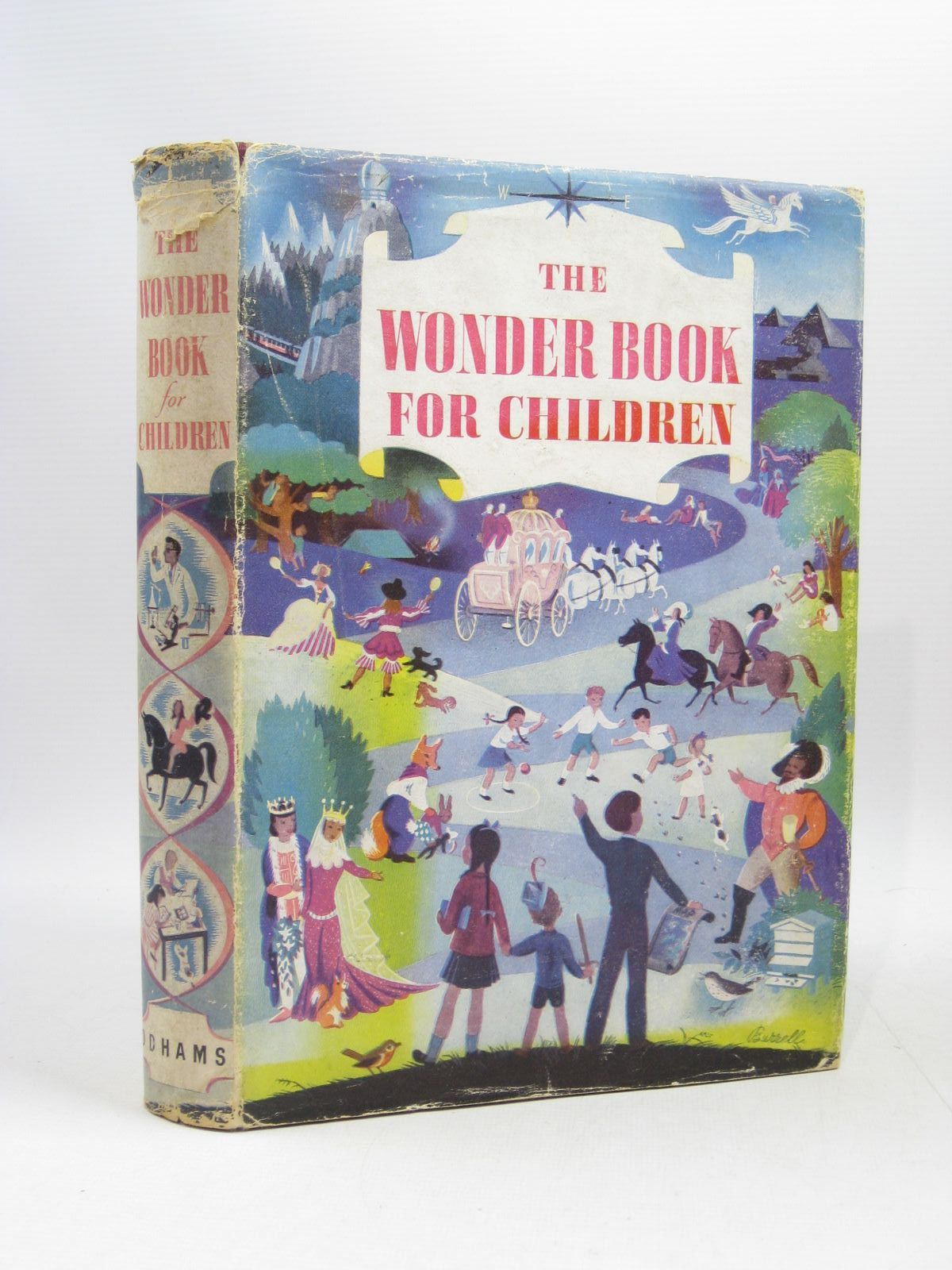 Photo of THE WONDER BOOK FOR CHILDREN written by Blyton, Enid<br />Brisley, Joyce Lankester<br />Saville, Malcolm<br />et al,  illustrated by Soper, Eileen<br />Nickless, Will<br />et al.,  published by Odhams Press Limited (STOCK CODE: 1504399)  for sale by Stella & Rose's Books