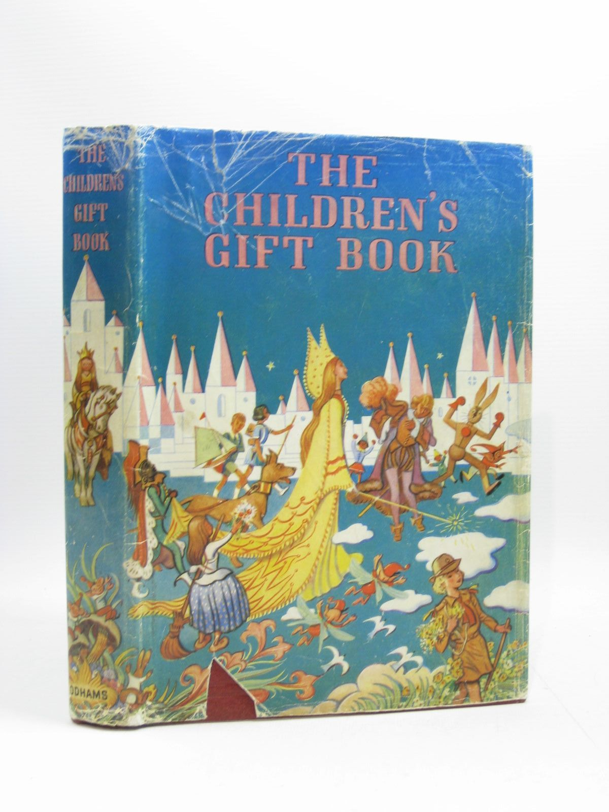 Photo of THE CHILDREN'S GIFT BOOK written by Blyton, Enid<br />Barrie, J.M.<br />Kipling, Rudyard<br />et al, illustrated by Brock, H.M.<br />Tenniel, John<br />et al., published by Odhams Press Limited (STOCK CODE: 1504409)  for sale by Stella & Rose's Books