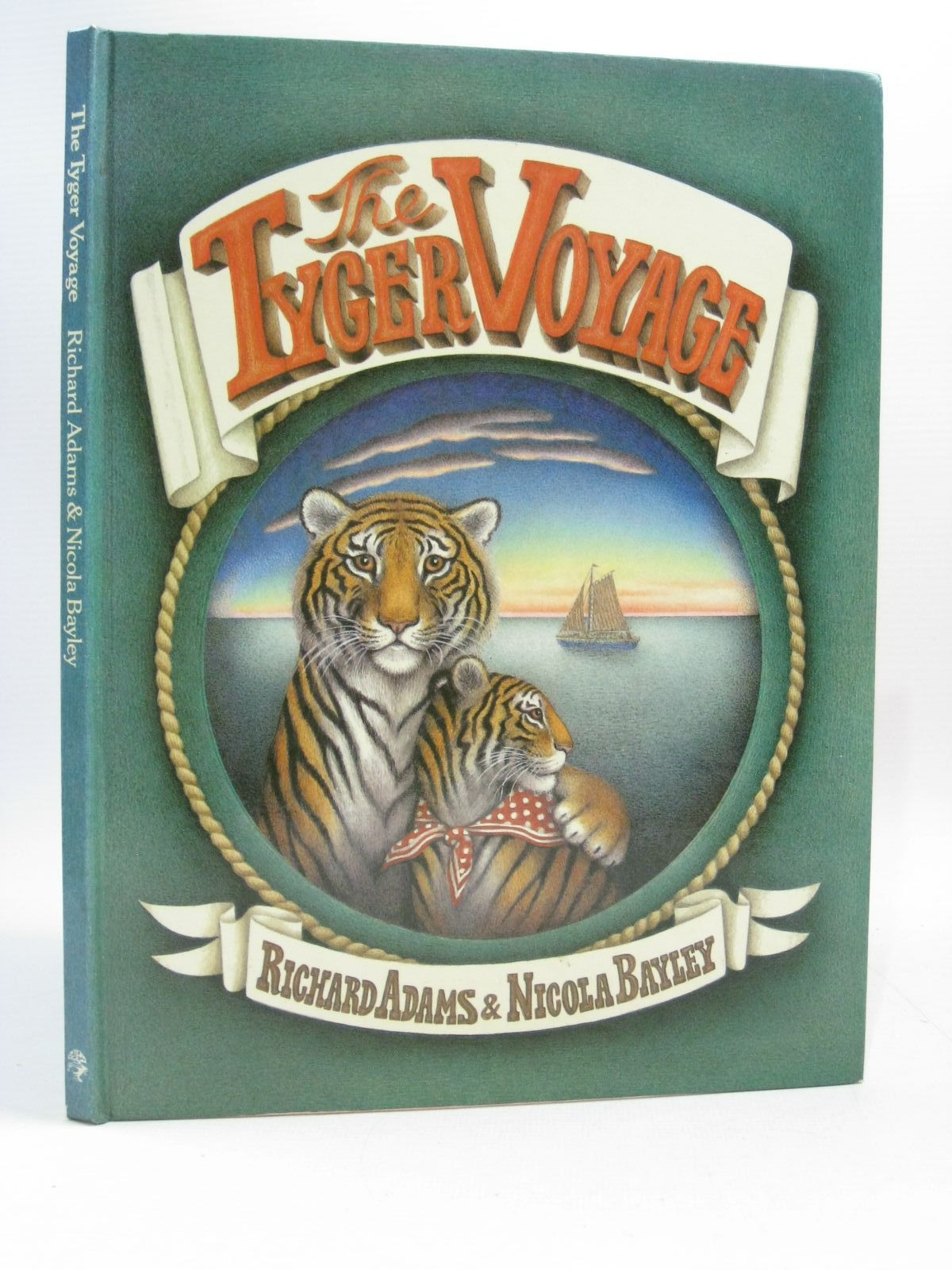 Photo of THE TYGER VOYAGE written by Adams, Richard illustrated by Bayley, Nicola published by Jonathan Cape (STOCK CODE: 1504434)  for sale by Stella & Rose's Books
