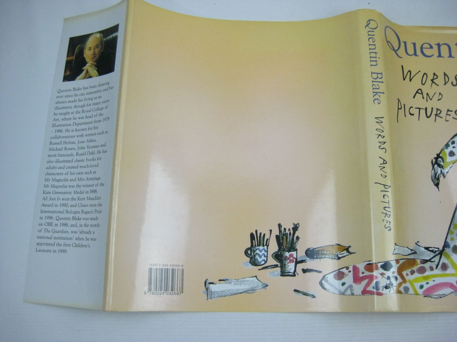 Photo of WORDS AND PICTURES written by Blake, Quentin illustrated by Blake, Quentin published by Chris Beetles Ltd. (STOCK CODE: 1504440)  for sale by Stella & Rose's Books